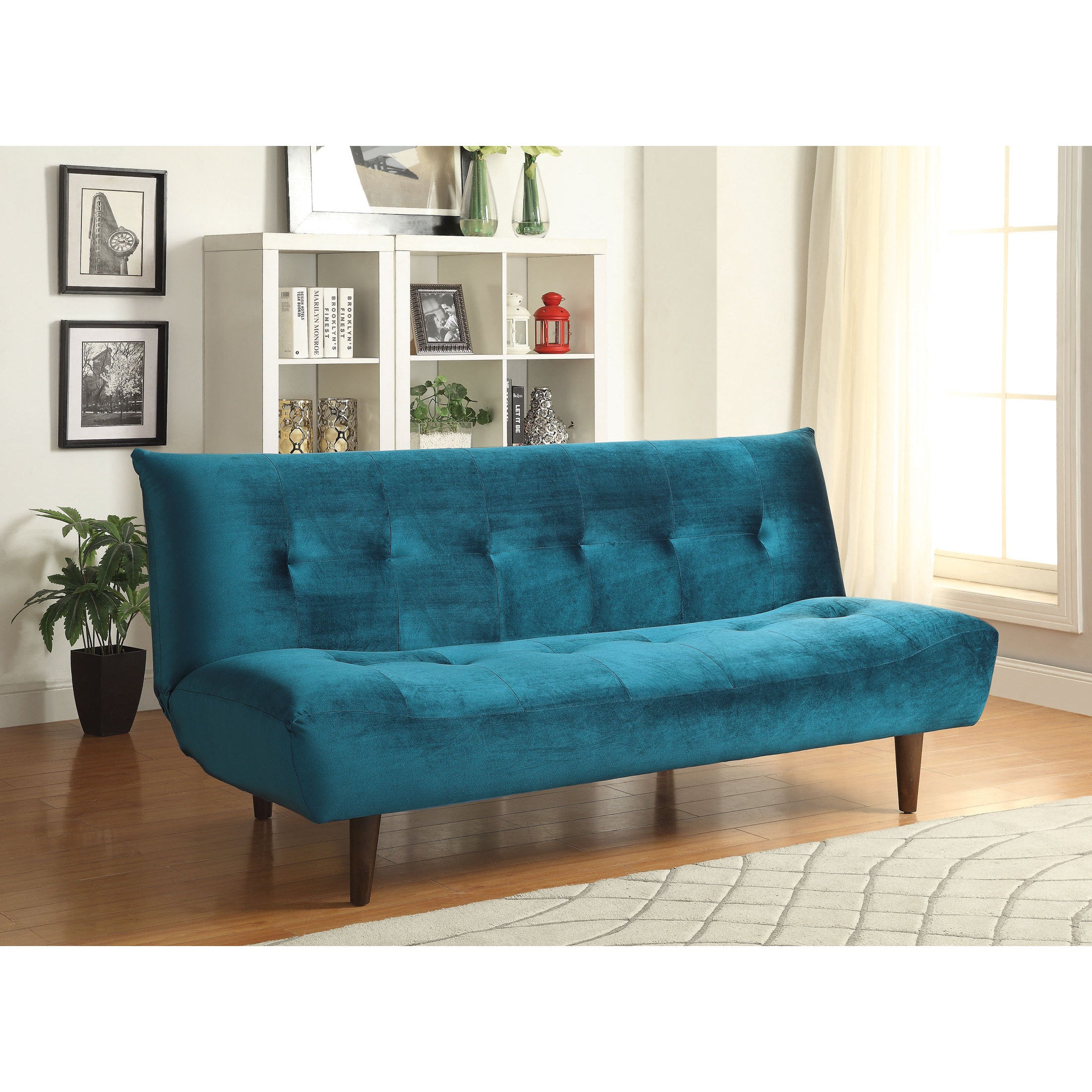 Coaster Company Home Furnishings Sofa Bed Teal Free Shipping Today 12189591
