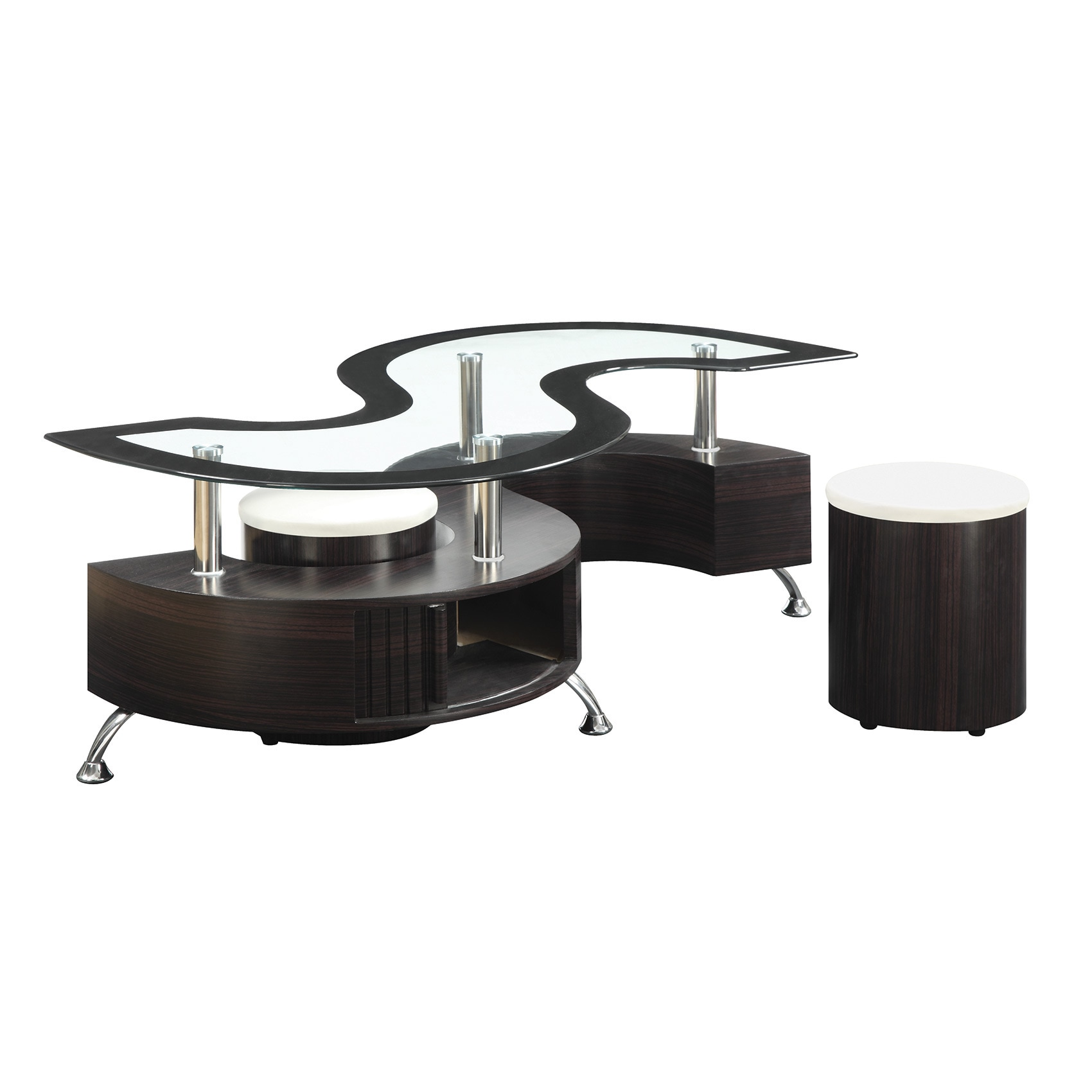 Coaster pany Cappuccino Coffee Table Free Shipping Today
