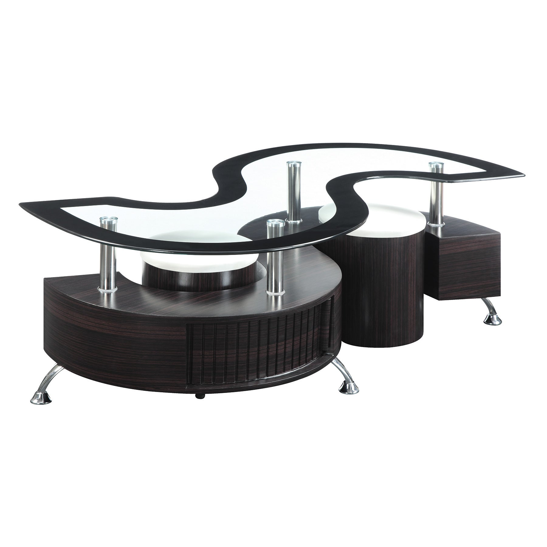 Shop Coaster Company Cappuccino Coffee Table   On Sale   Free Shipping  Today   Overstock.com   12192074