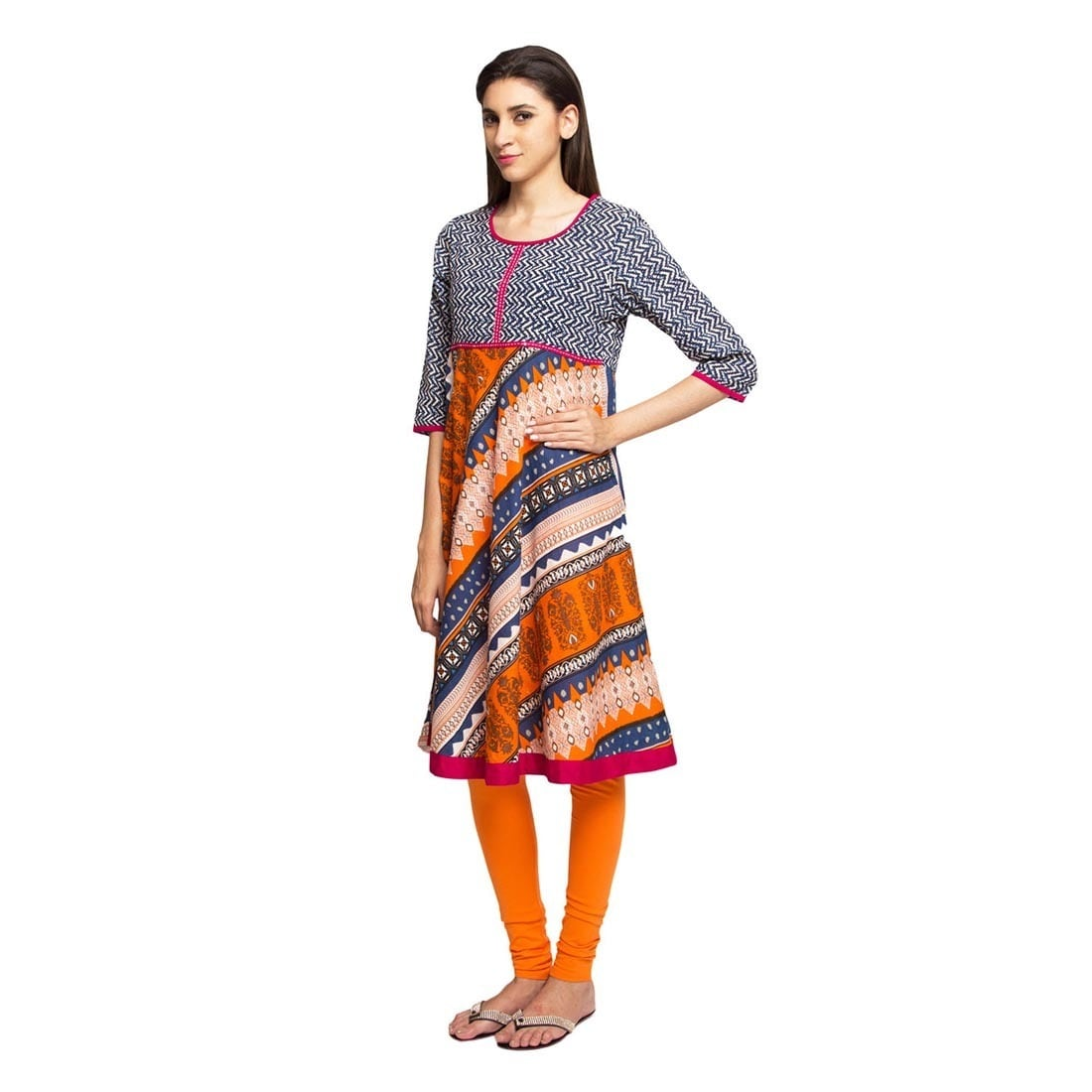 19776d5a78c Shop Handmade In-Sattva Ethnicity Women's Indian Trendy Multi-Print Kurta  Tunic (India) - On Sale - Free Shipping On Orders Over $45 - Overstock -  12192089