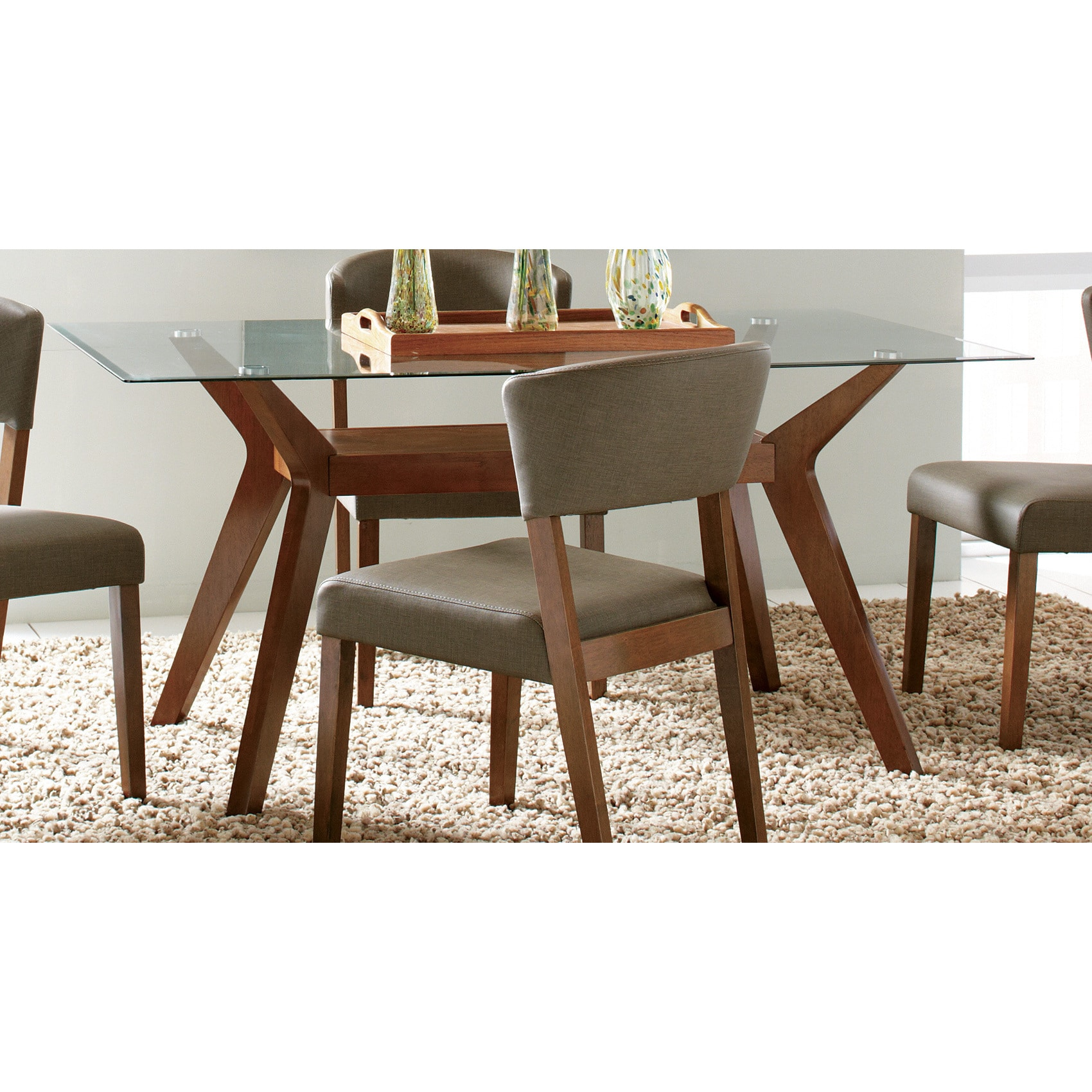 Shop Coaster Company Paxton Nutmeg Dining Table