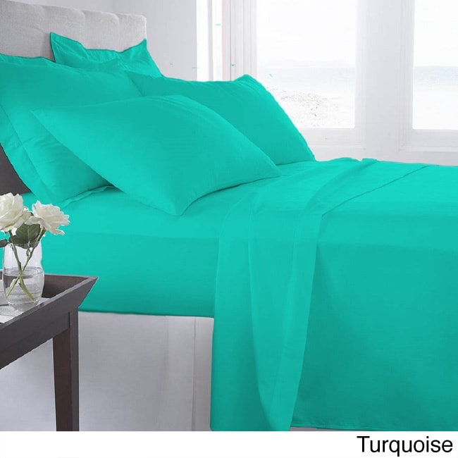 Shop The Curated Nomad Haight Supersoft Microfiber 6piece Sheet Set Free Shipping On Orders Over 45 Overstock 20254212: 1600 Thread Count Microfiber Sheets At Alzheimers-prions.com