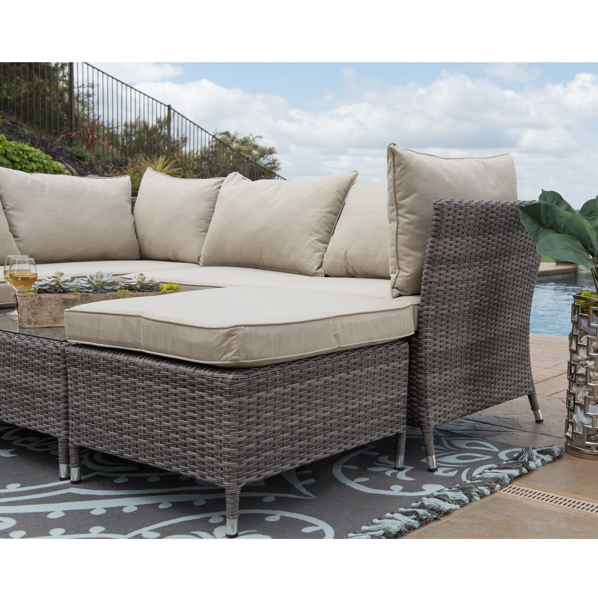 patio furniture fresh inspirational sofa outdoor sets set of wicker affordable breathtaking