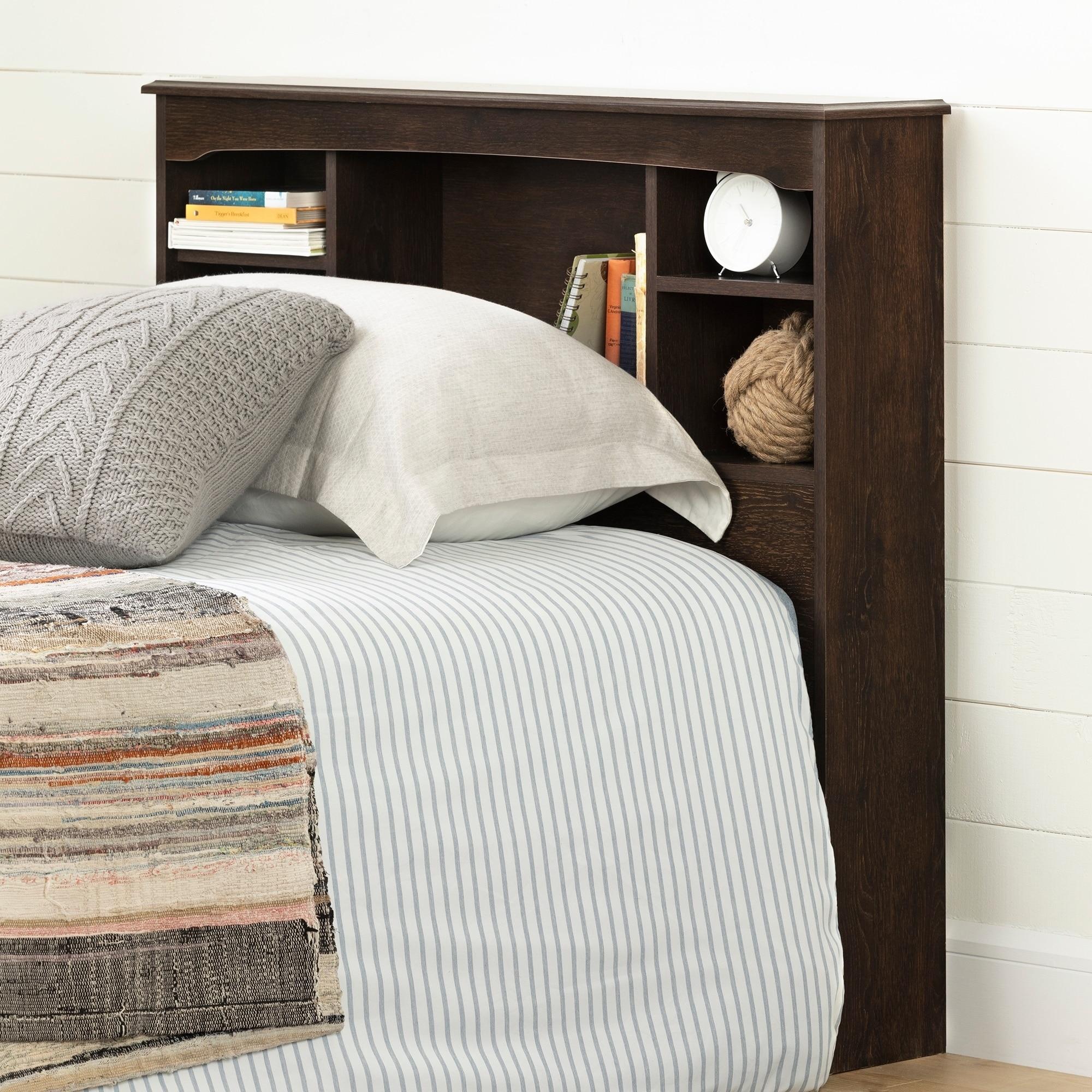 South Shore Aviron Twin Bookcase Headboard (39)  Free Shipping