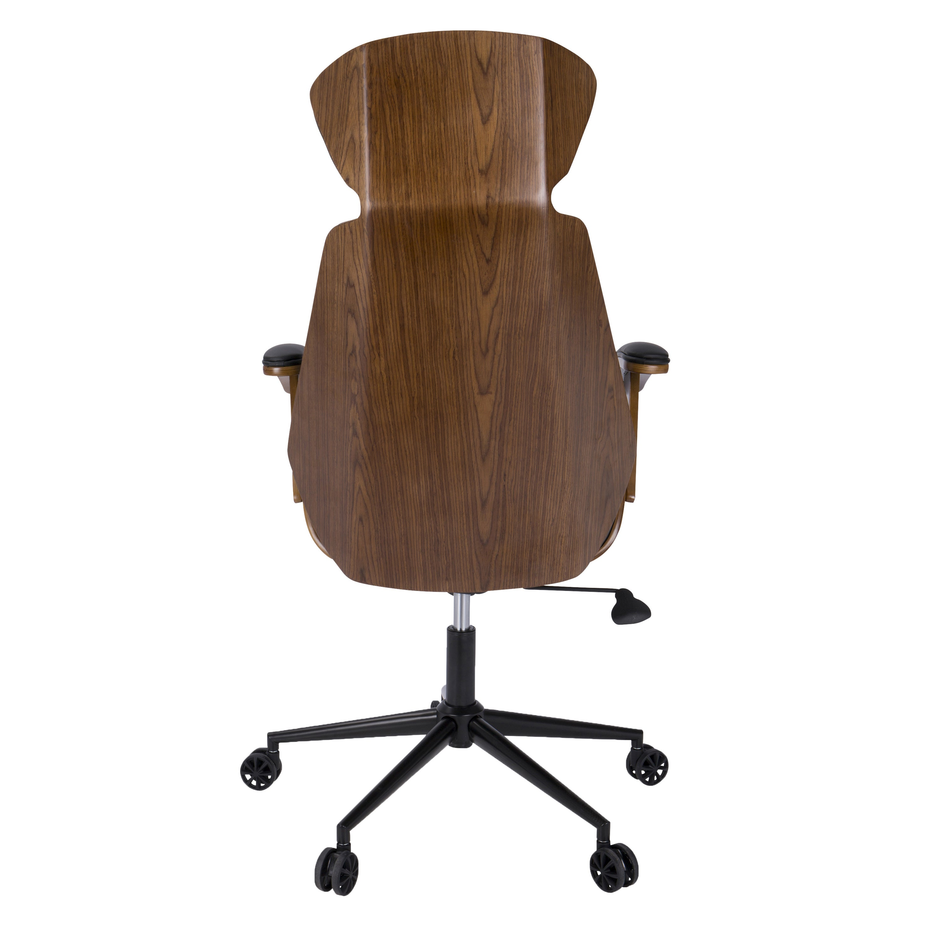 Spectre Mid Century Modern Walnut Wood Office Chair On Free Shipping Today 12218702