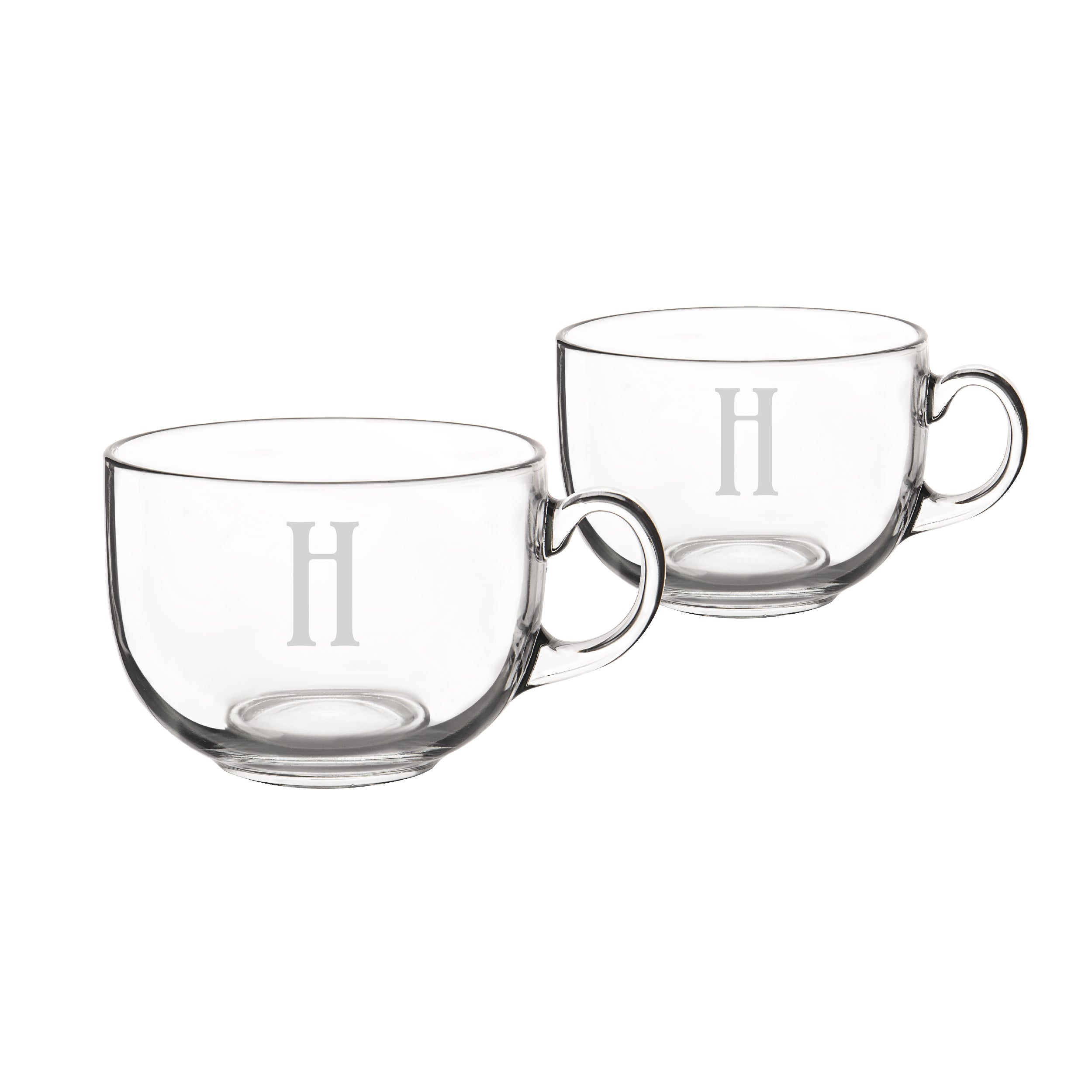 Personalized Large 22 Oz Gl Coffee Mugs Set Of 2 Free Shipping On Orders Over 45 19066688