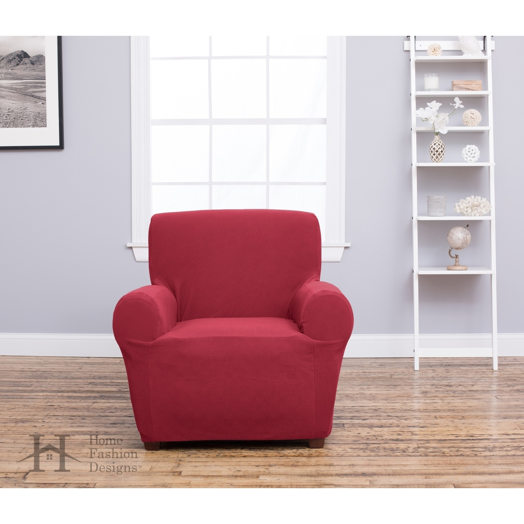 Home Fashion Designs Cambria Collection Heavyweight Stretch Chair Slipcover    Free Shipping On Orders Over $45   Overstock   19069448