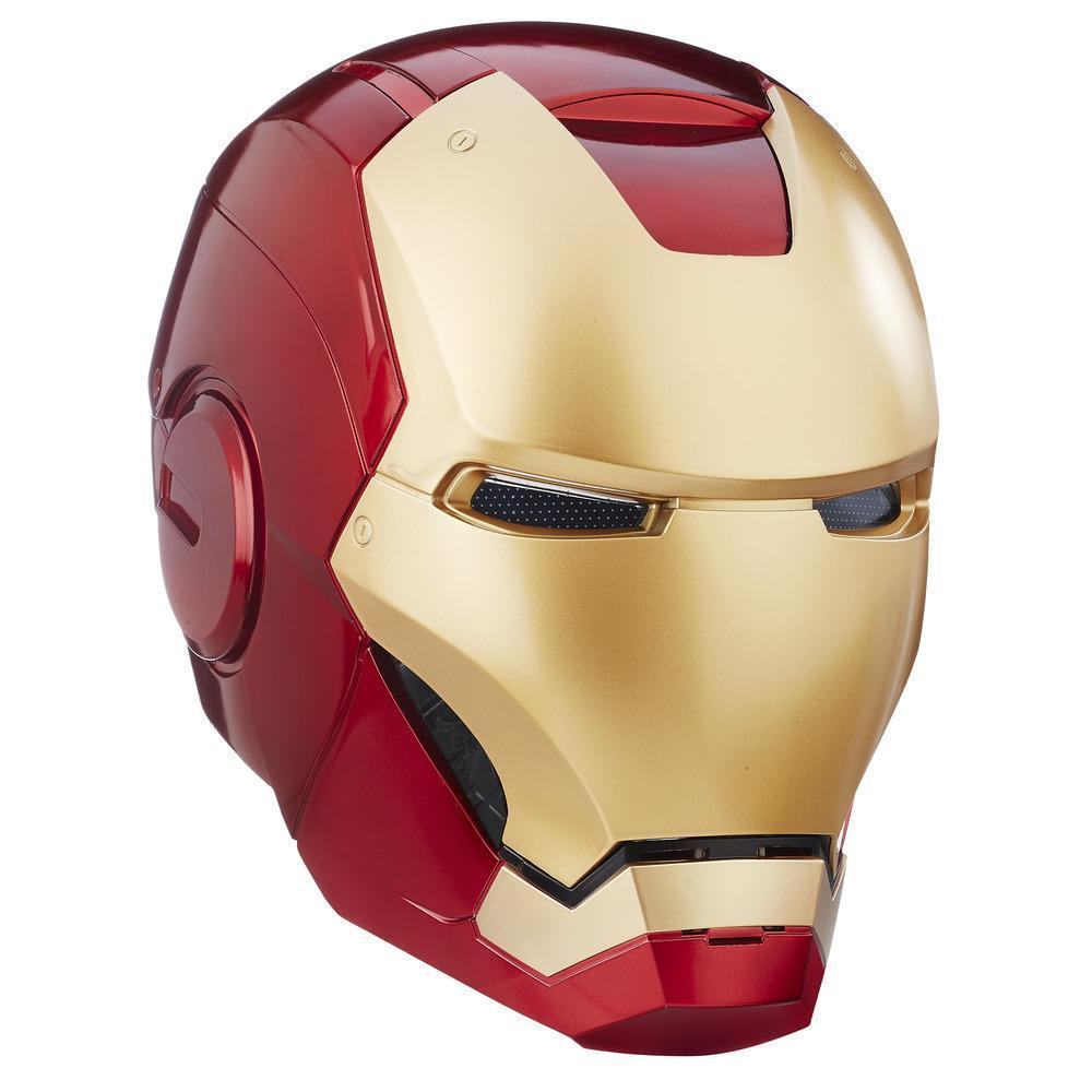 Shop Hasbro Avengers Iron Man Electronic Helmet Ships To Canada Luggage Tag Ironman Head 12224898