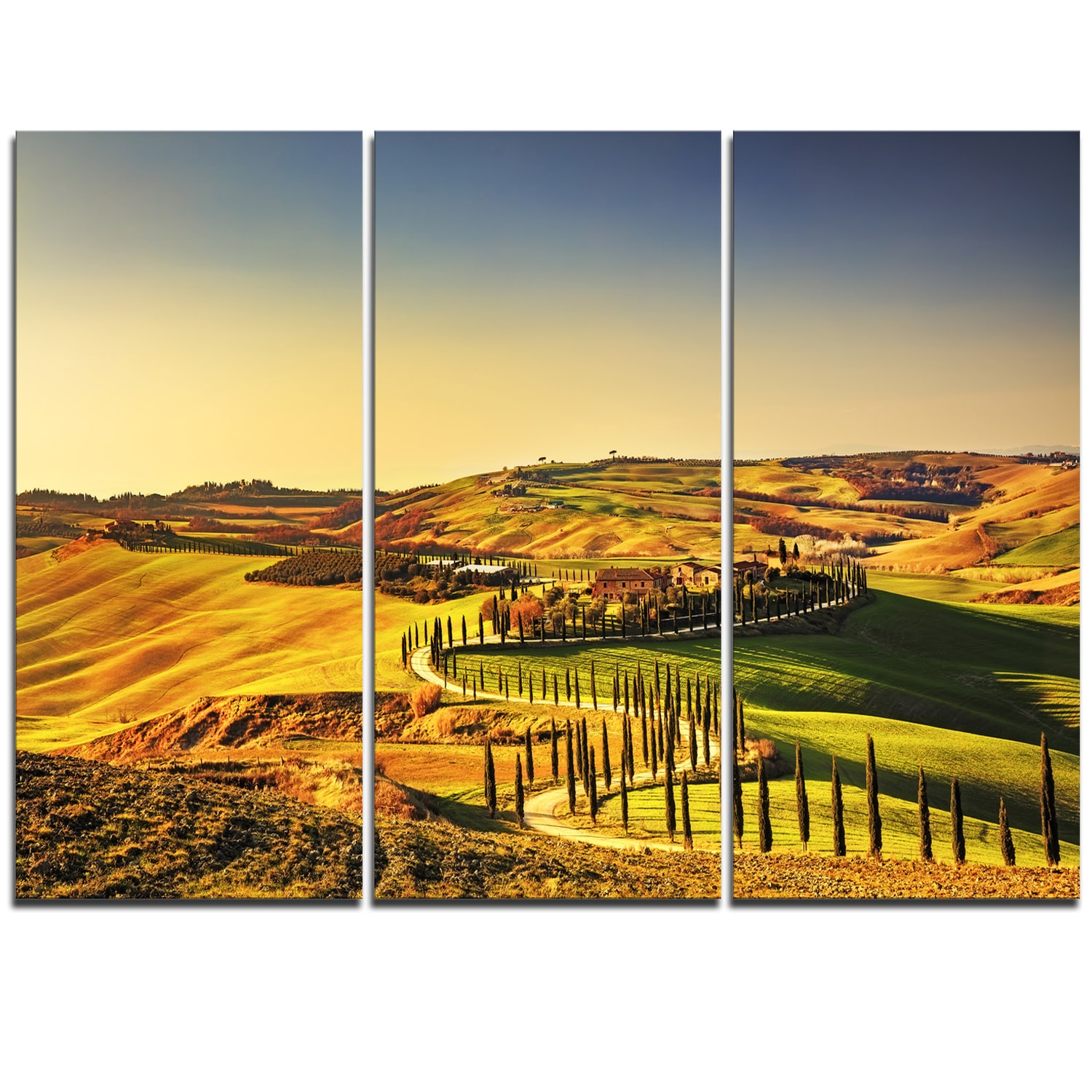 Magnificent Tuscany Wall Art Pattern - Wall Art Collections ...