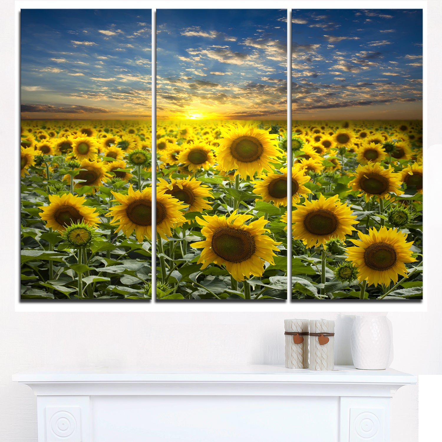 Comfortable Flower Canvas Wall Art Images - The Wall Art Decorations ...