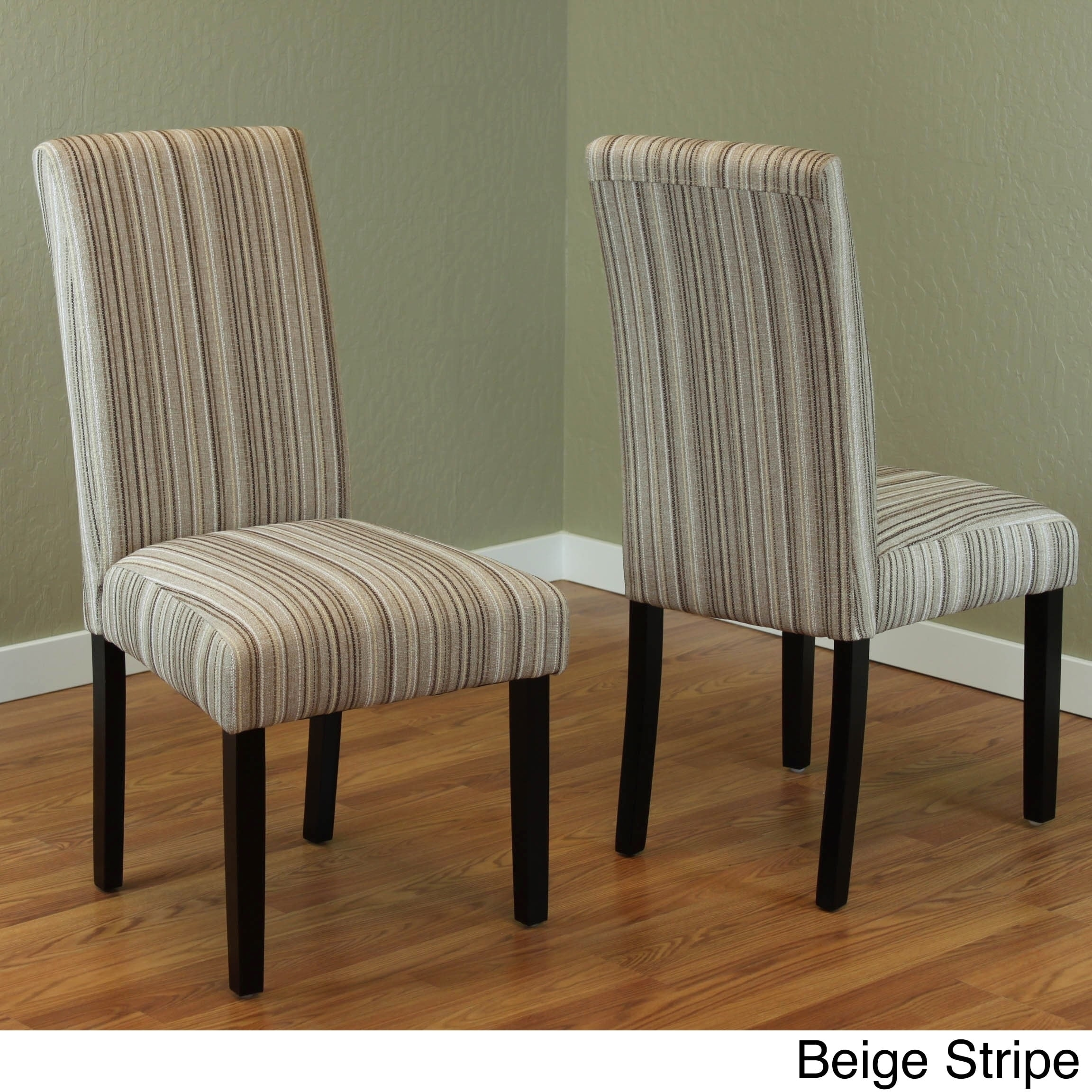 Fabric dining chairs dining room ideas monsoon seville stripe fabric dining chairs set of 2 free dzzzfo