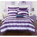 Chic Home Lucas Purple 9-Piece Bed in a Bag with Sheet Set
