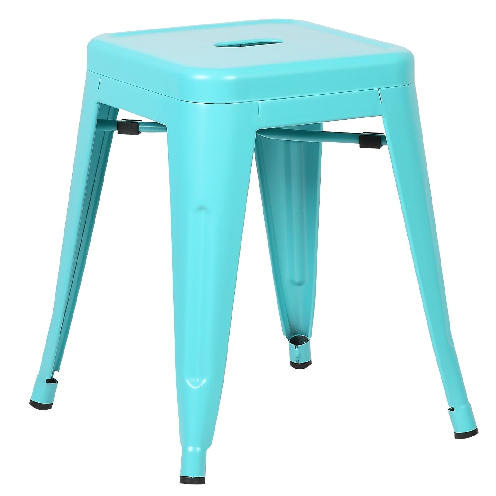 Poly and Bark Trattoria 18-inch Table Stool Matte Finish (Set of 4 ...