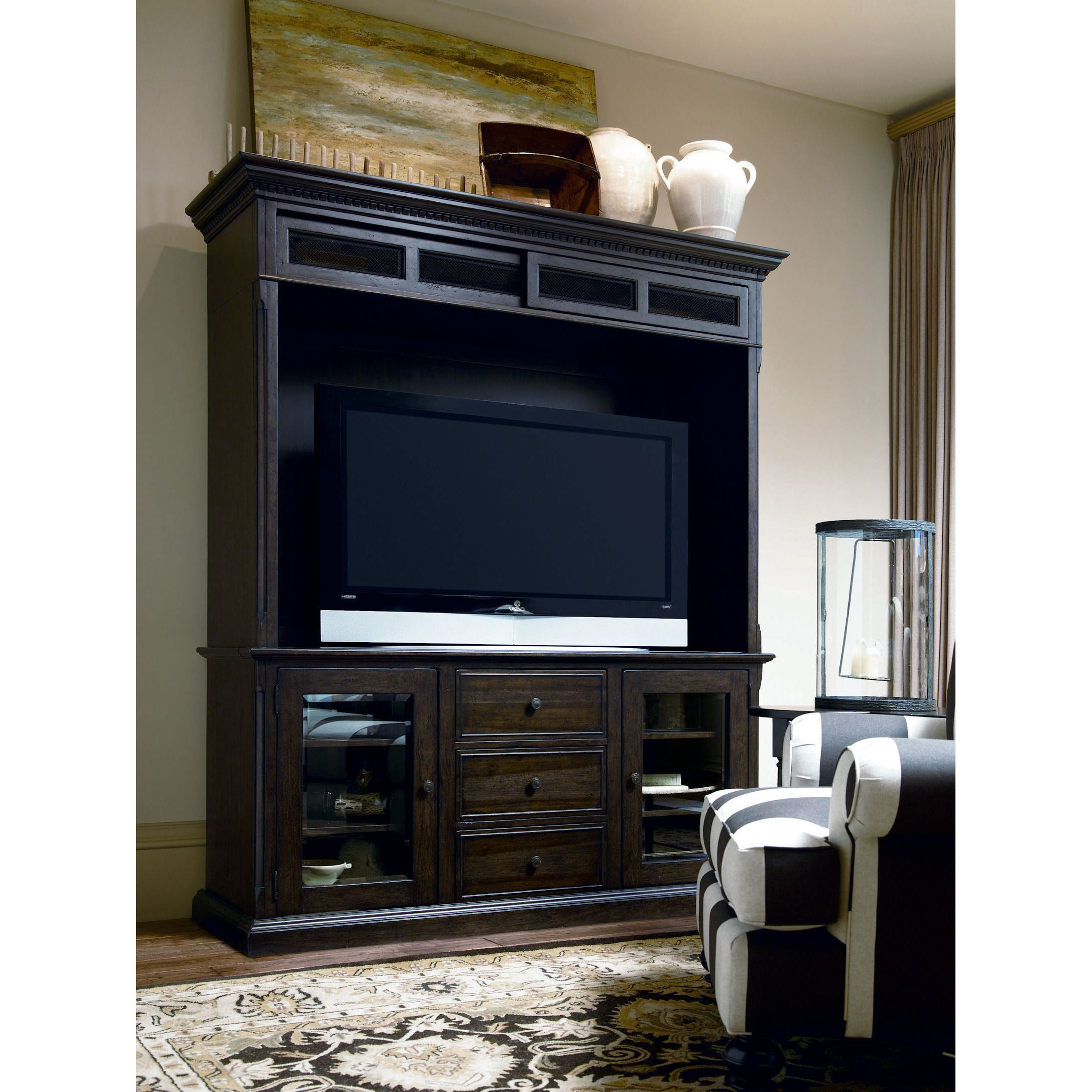 Etonnant Shop Paula Deen Down Home Molasses Home Entertainment Wall System   Free  Shipping Today   Overstock.com   12252536