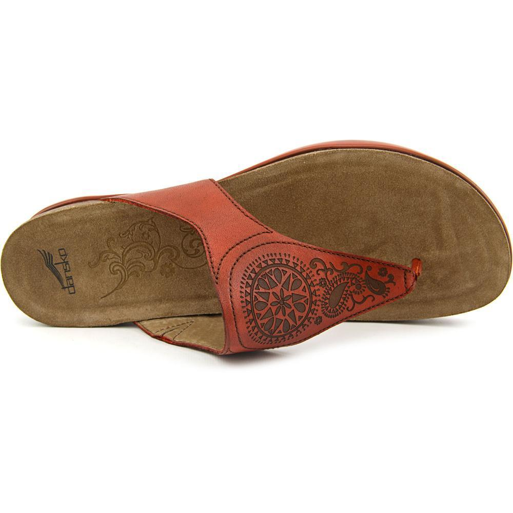 e2a91858b81a Shop Dansko Women s  Priya  Leather Sandals - Free Shipping Today -  Overstock.com - 12253321