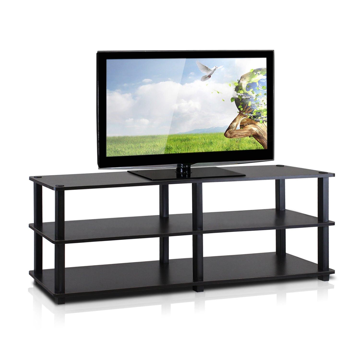 Furinno Tv14038 Turn S No Tools 3 Tier Entertainment Tv Stands
