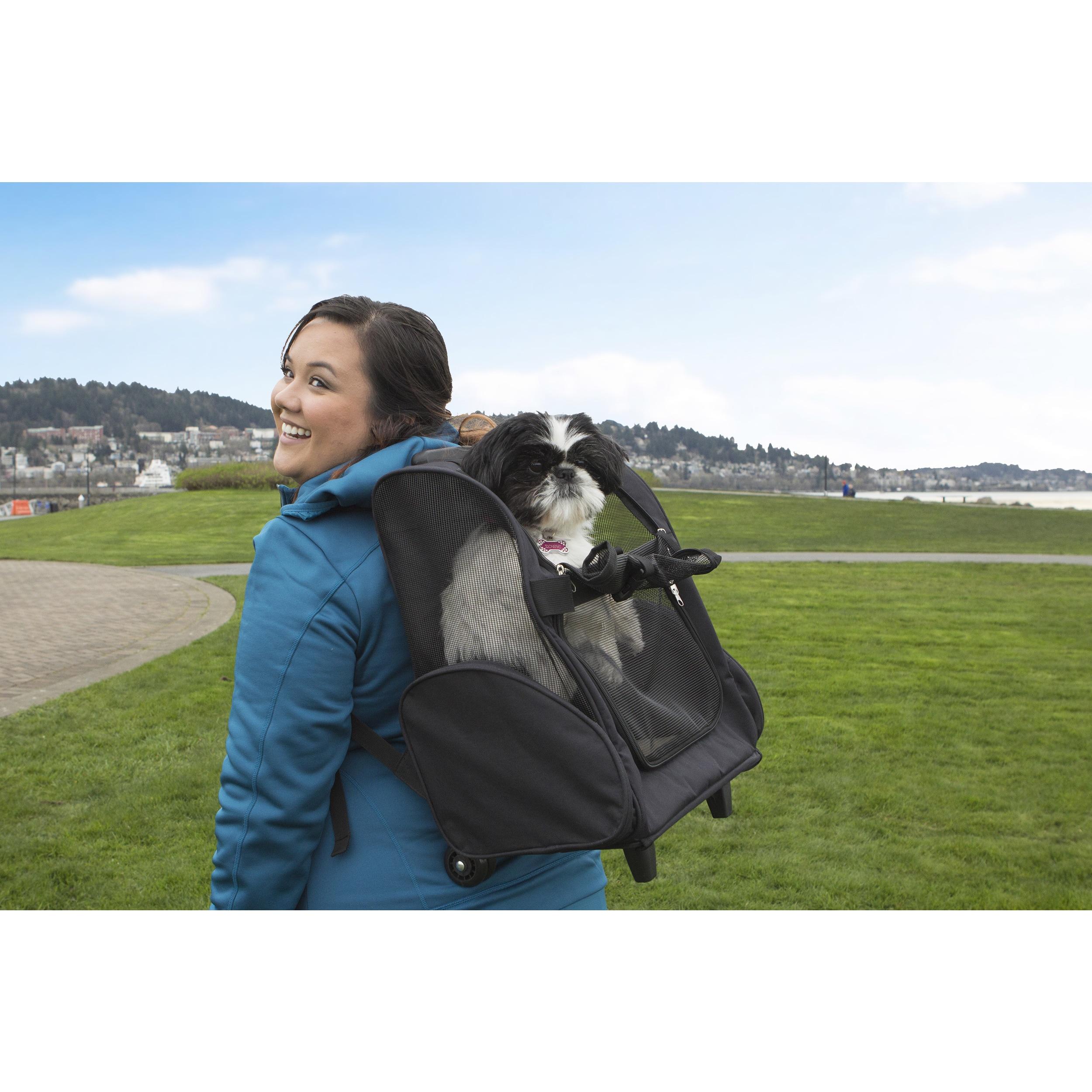 Shop FurHaven Pet Backpack Rolling Travel Pet Carrier - Free Shipping On  Orders Over  45 - Overstock.com - 12269532 5d09ba3d98