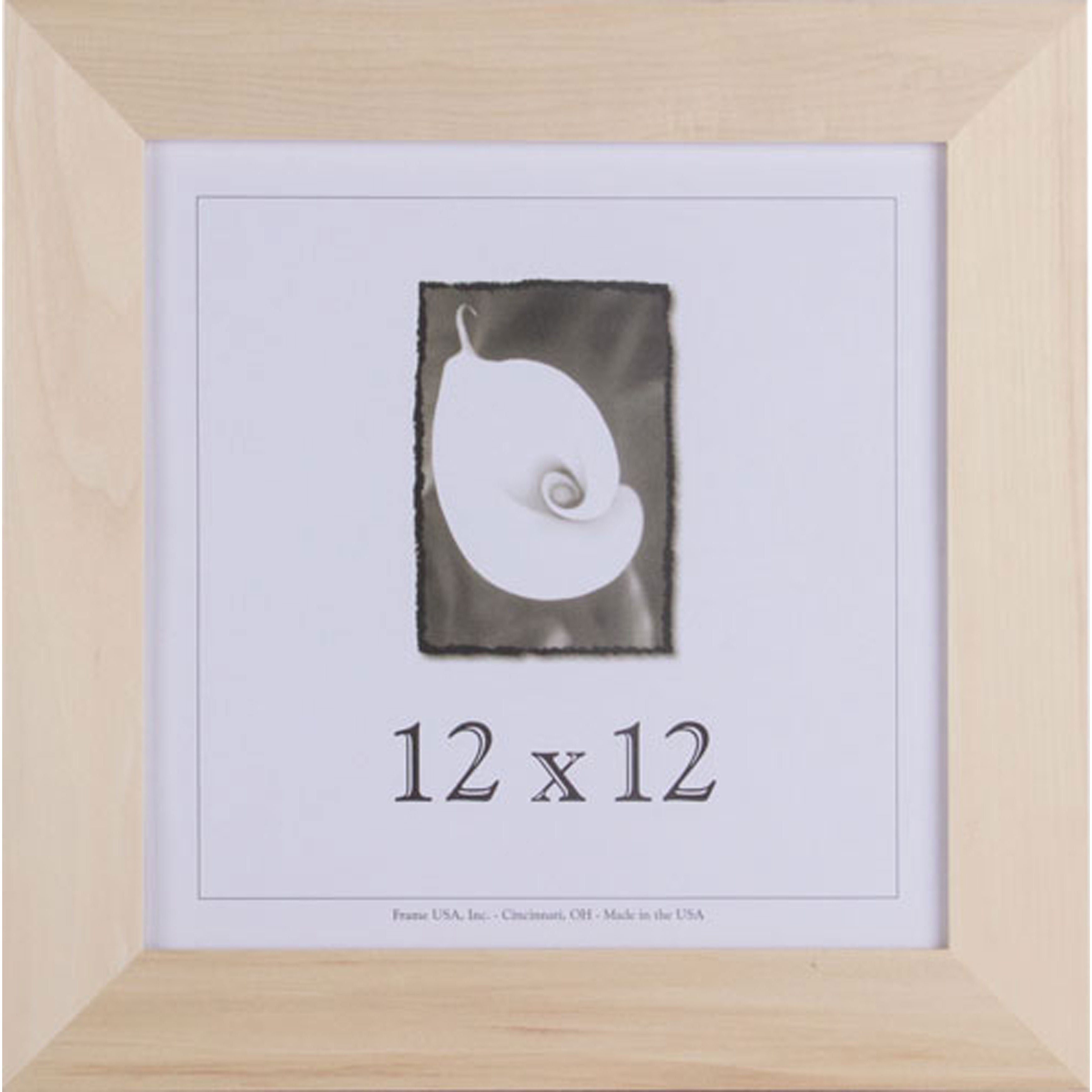 Shop Unfinished Wood 12-inch Square Frames - Free Shipping On Orders ...