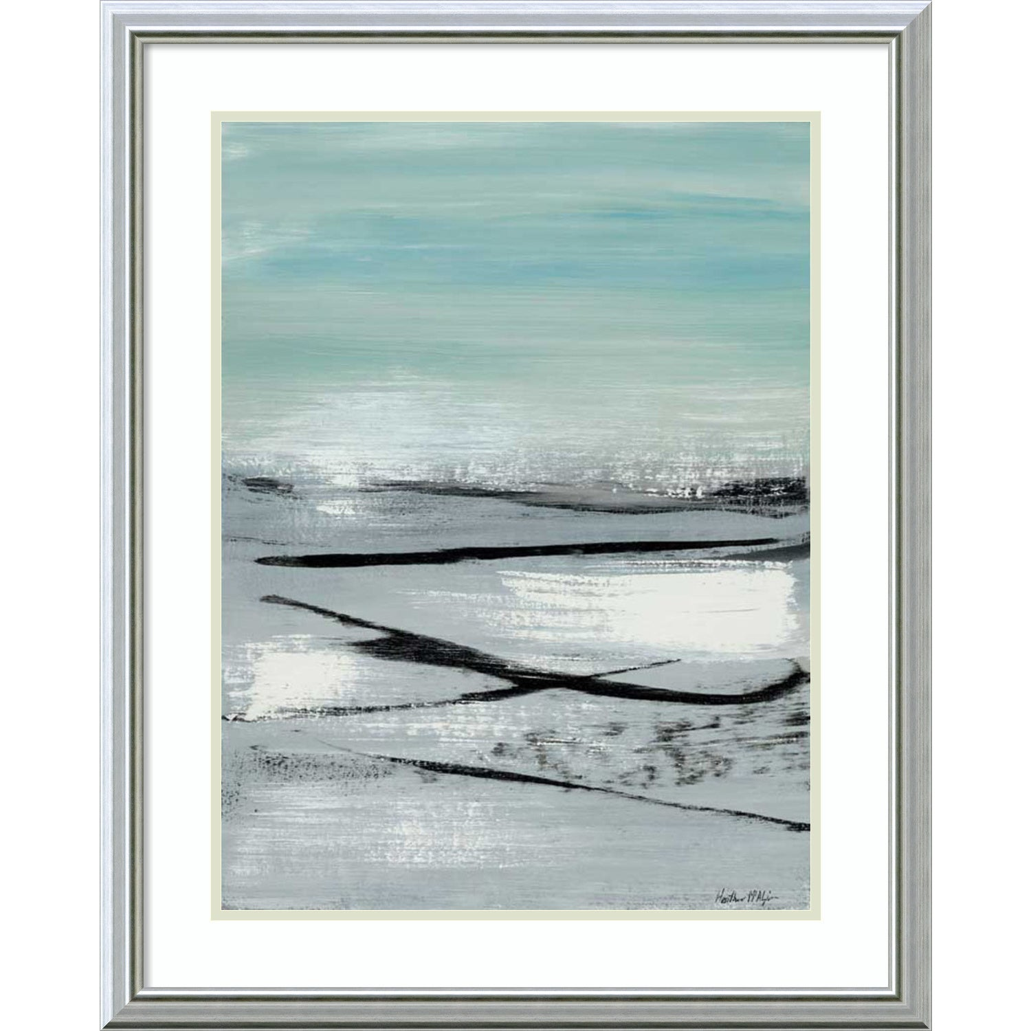 Shop Framed Art Print \'Beach II: Abstract\' by Heather McAlpine 25 x ...