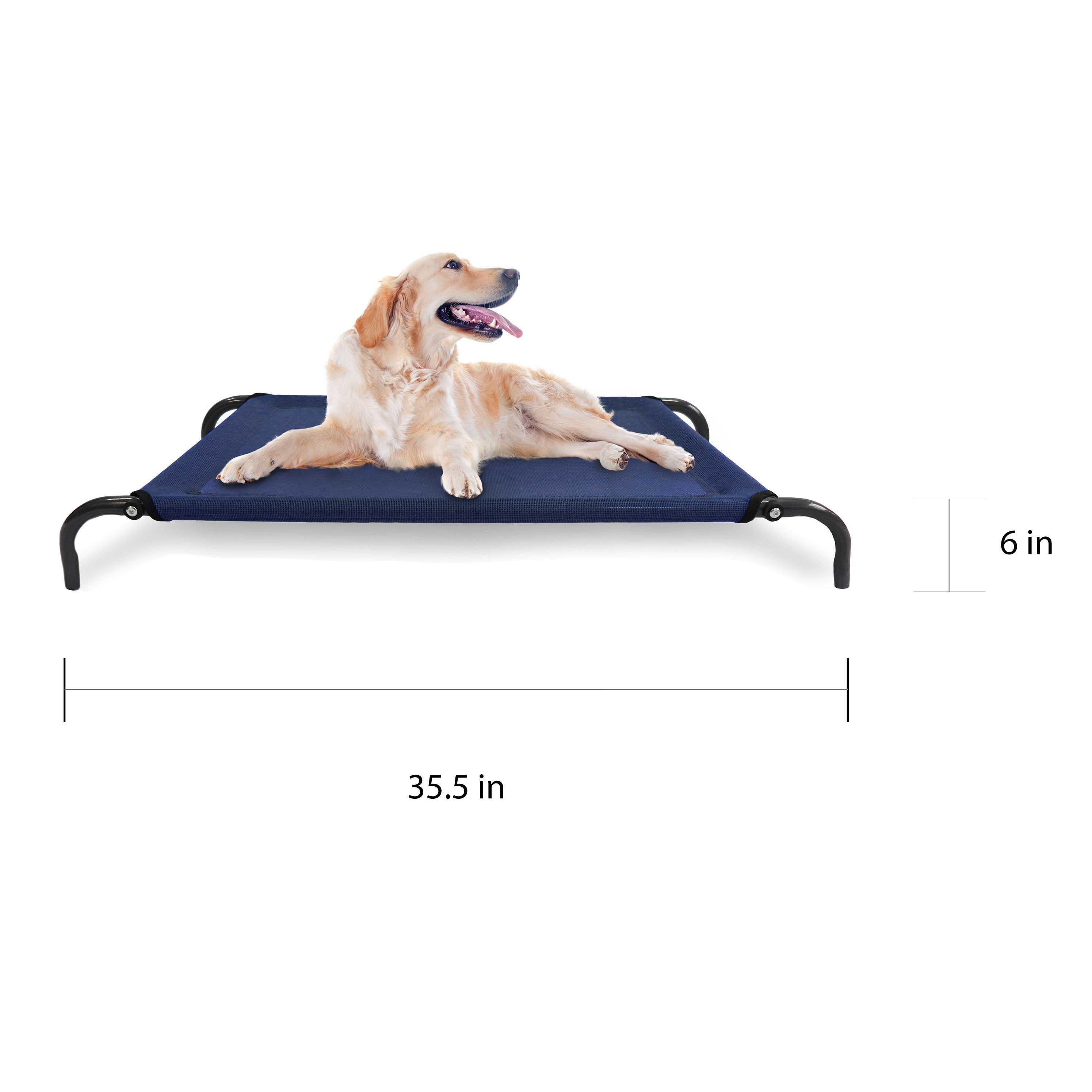 60068c3eb96c Shop FurHaven Steel Frame Elevated Hammock Cot-Style Raised Pet Bed - Free  Shipping On Orders Over $45 - Overstock - 12298495