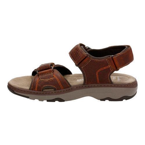 df0539c3c999 ... Thumbnail Men  x27 s Clarks Raffe Sun Active Sandal Brown Tumbled  Leather