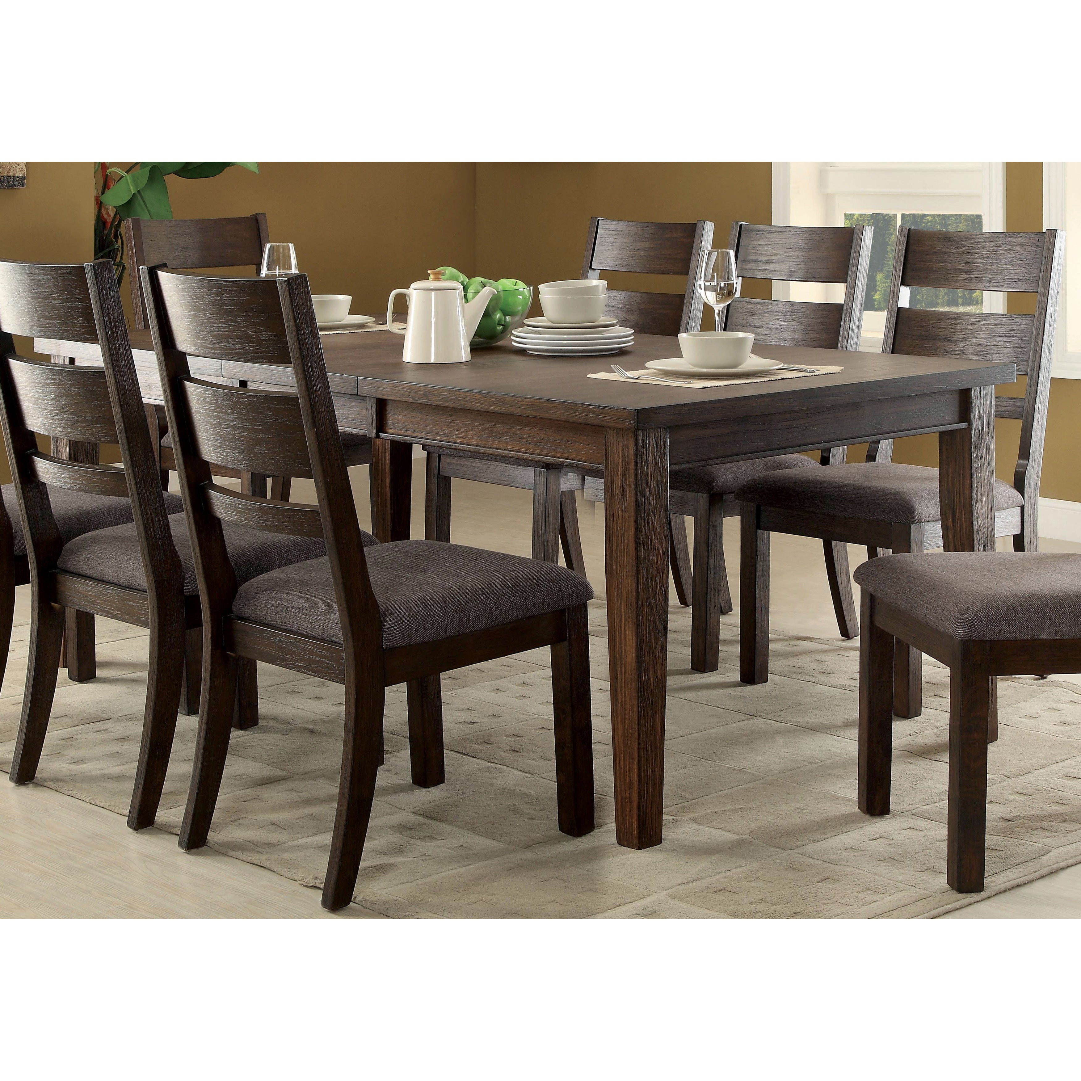 Expandable Furniture. Expandable Furniture. Furniture Of America Rayshin  Rustic Espresso Dining Table   Free