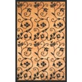 Wisteria Gold/ Black Area Rug by Greyson Living (7'9 x 10'6)