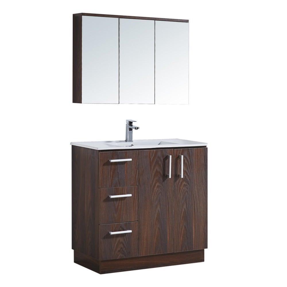 35 Bathroom Vanity With Ceramic Sink Free Shipping Today 12301342