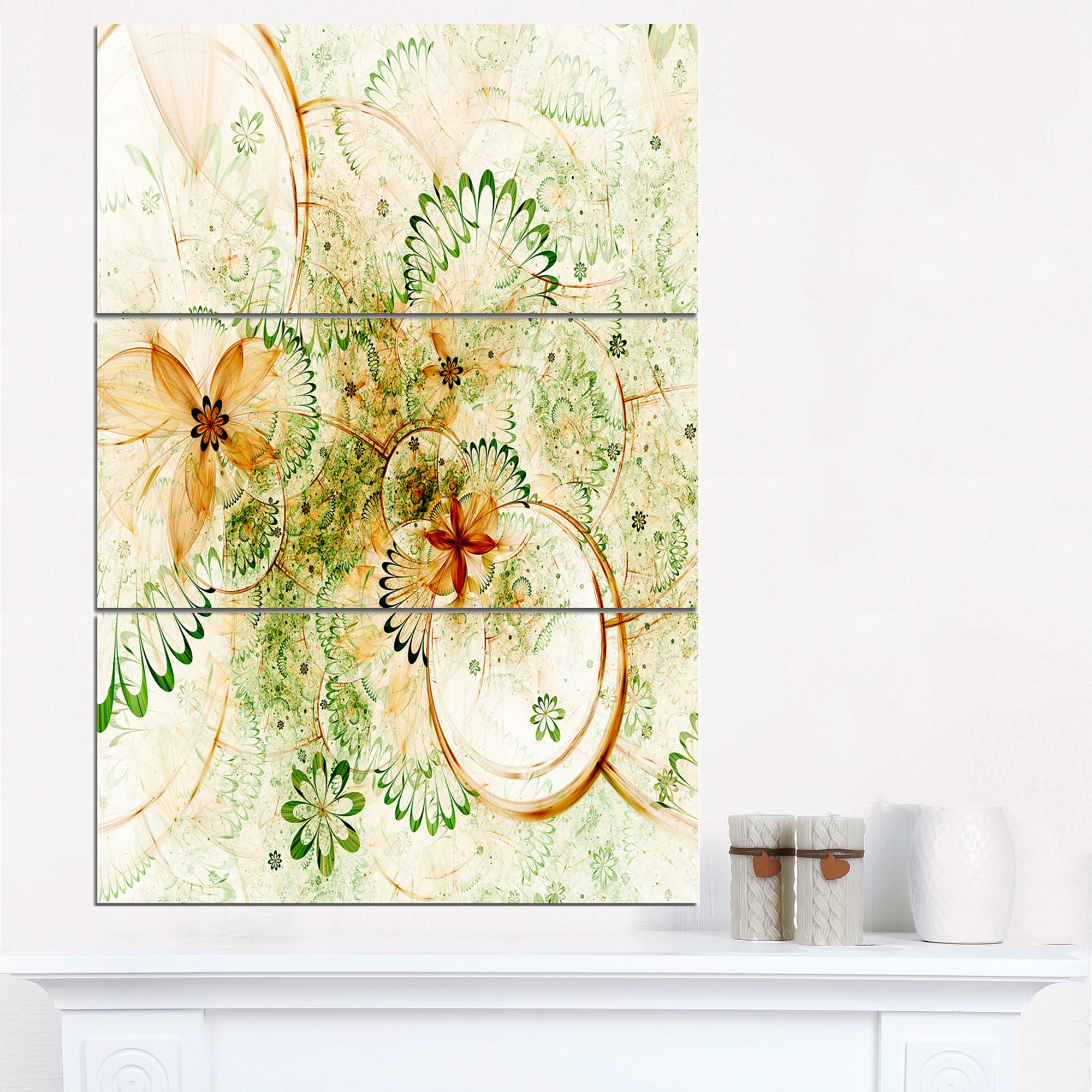 Awesome Floral Wall Art Canvas Vignette - All About Wallart ...