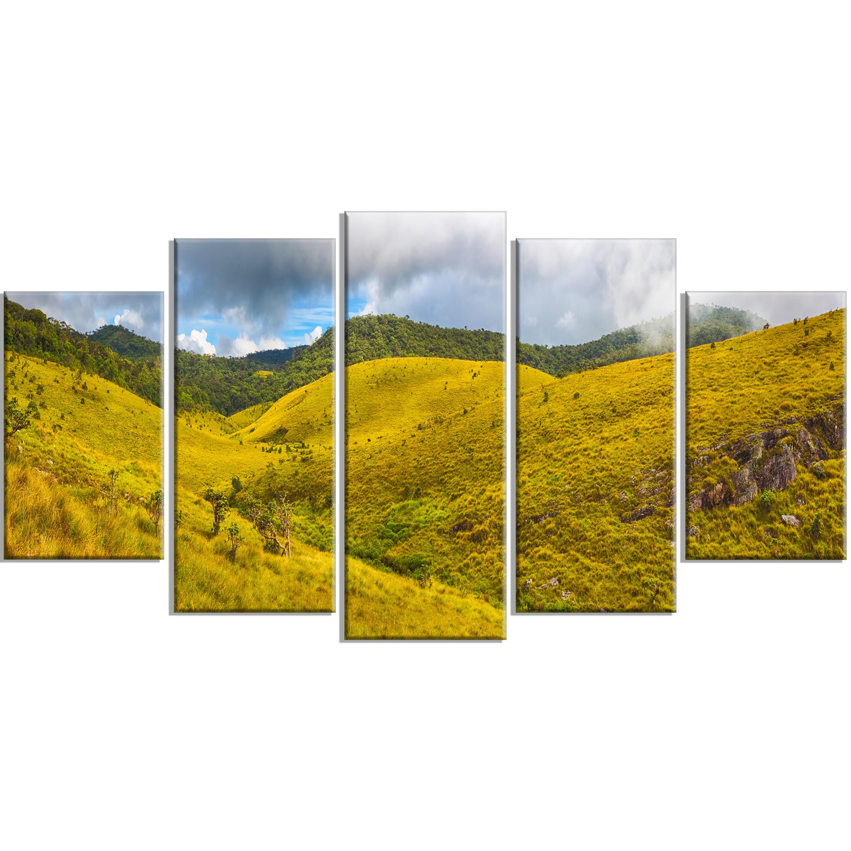 Shop Beautiful Green Horton Plains - Oversized Landscape Wall Art ...
