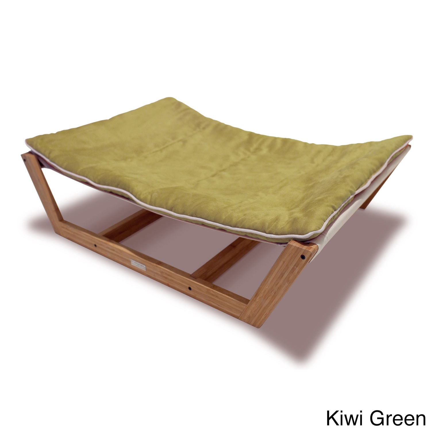 bamboo nautical solid colored wood suede hammock dog and cat bed   free shipping today   overstock     19142561 bamboo nautical solid colored wood suede hammock dog and cat bed      rh   overstock