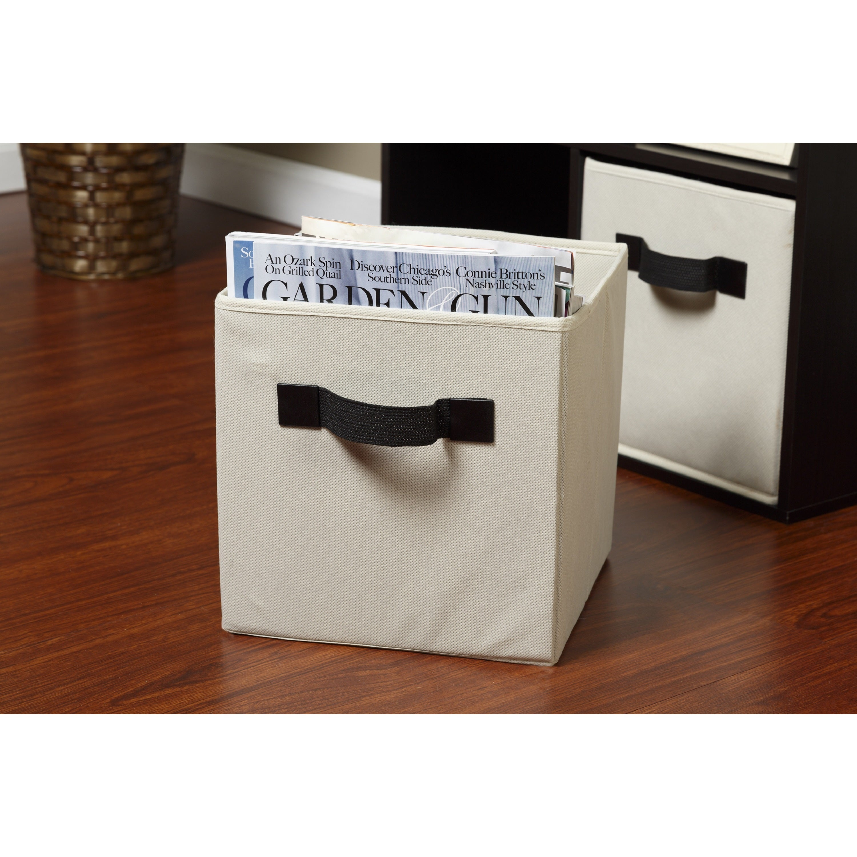 d9e050ff6fcf OneSpace Foldable Cloth Storage Cube Set (Pack of 4)