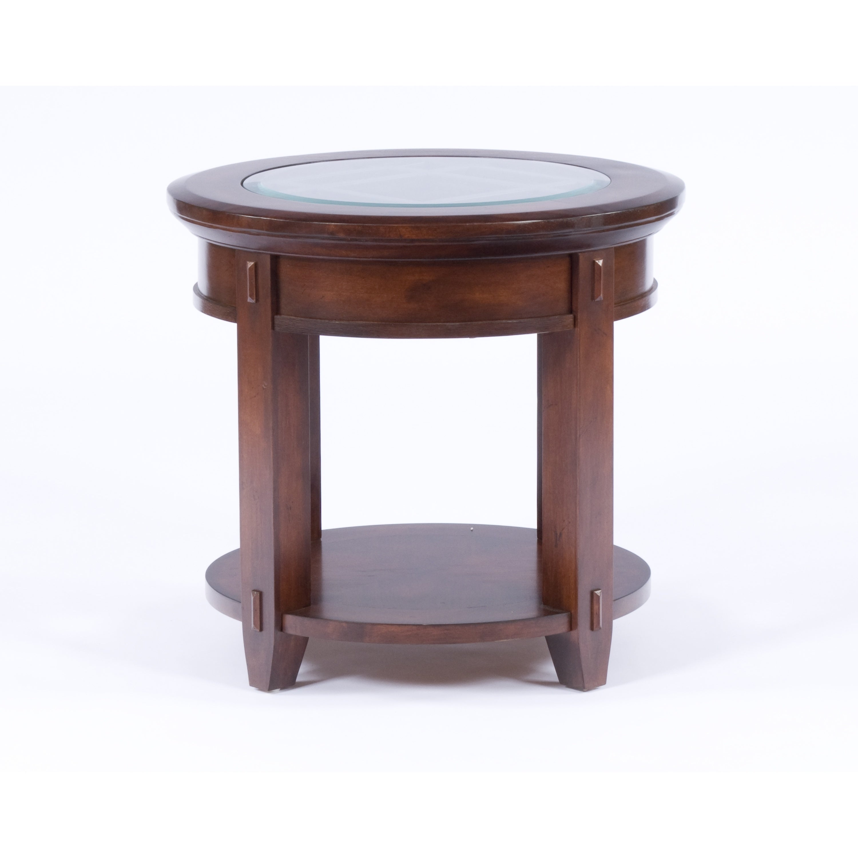 Broyhill Vantana Wood Round End Table Free Shipping Today