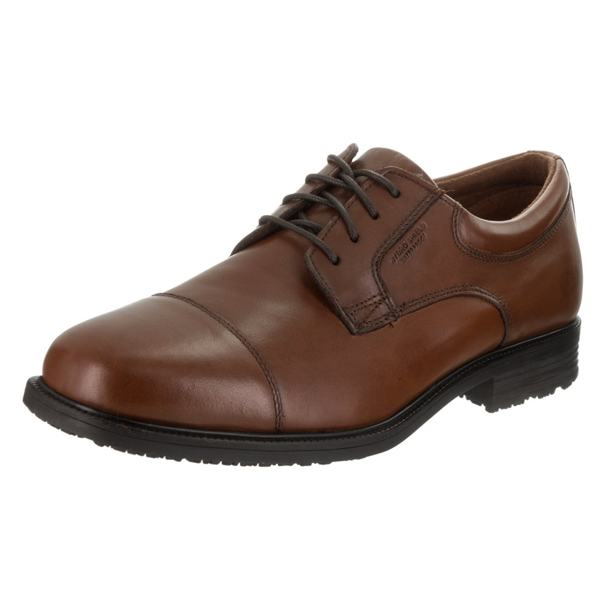 1daec82744dd44 Shop Men s Rockport Essential Details Waterproof Cap Toe Tan Antique  Leather - Free Shipping Today - Overstock - 12309932