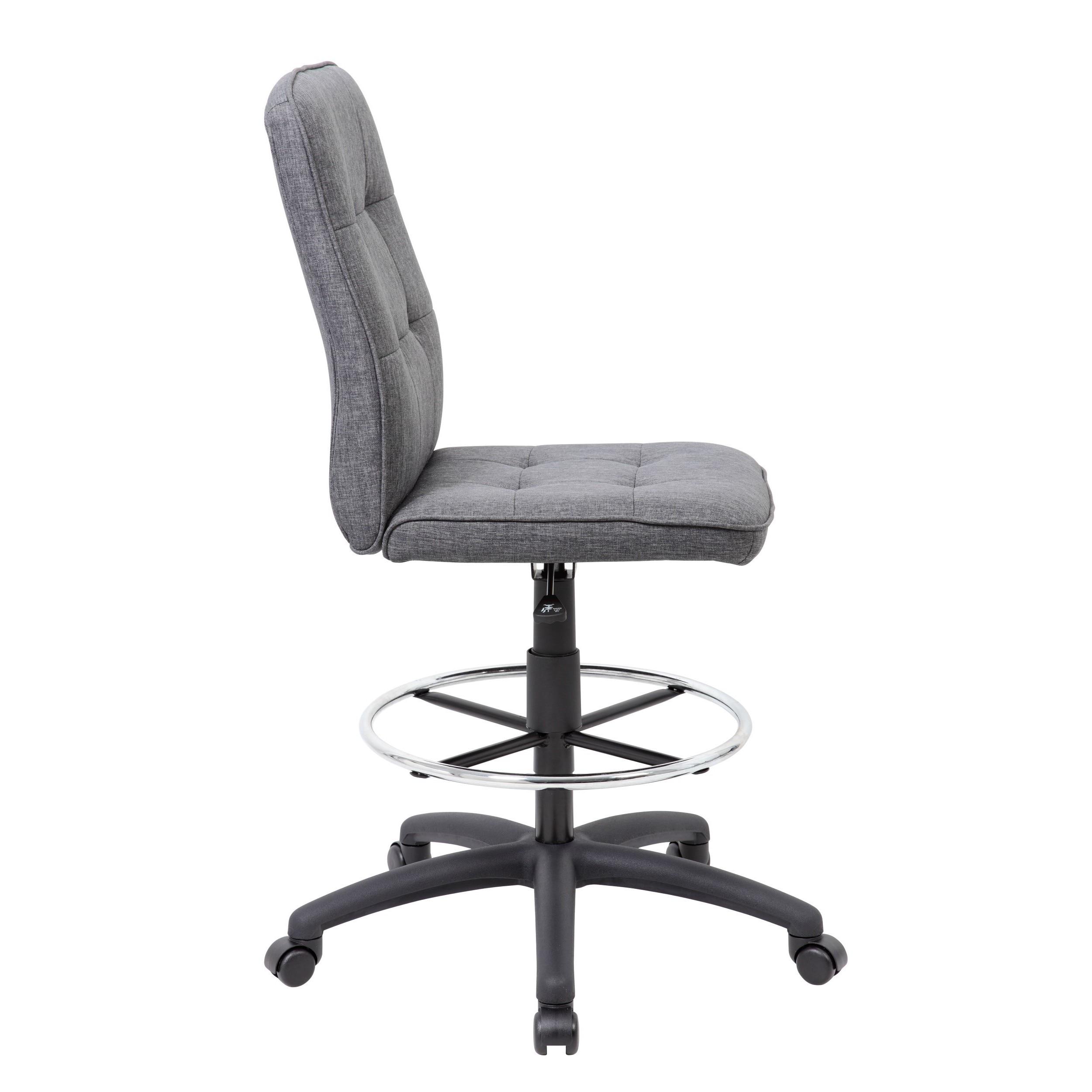 Merveilleux Shop Boss Fabric Modern Ergonomic Drafting Chair   Free Shipping Today    Overstock.com   12312698