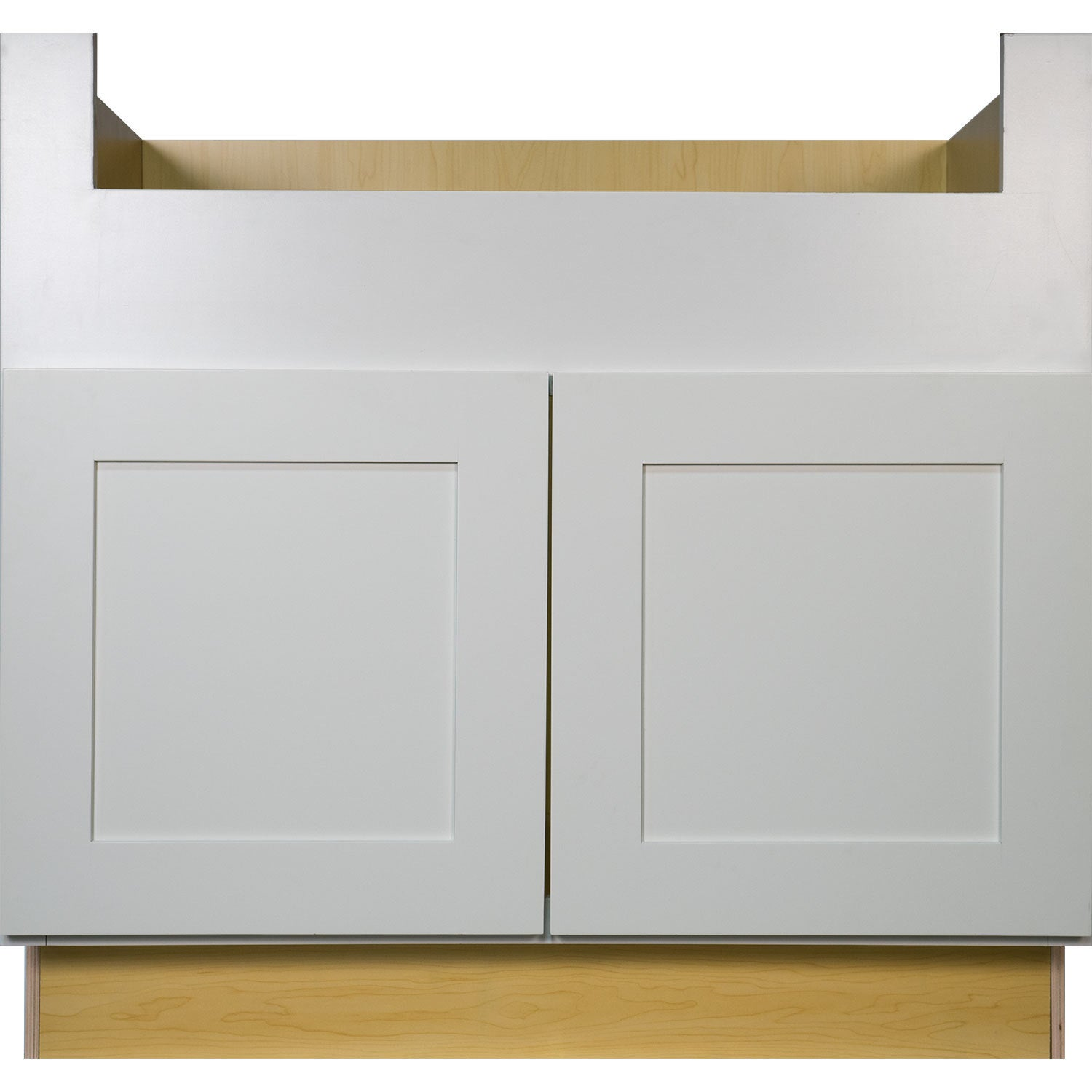 Shop Everyday Cabinets 36 Inch White Shaker Farmhouse Apron Sink