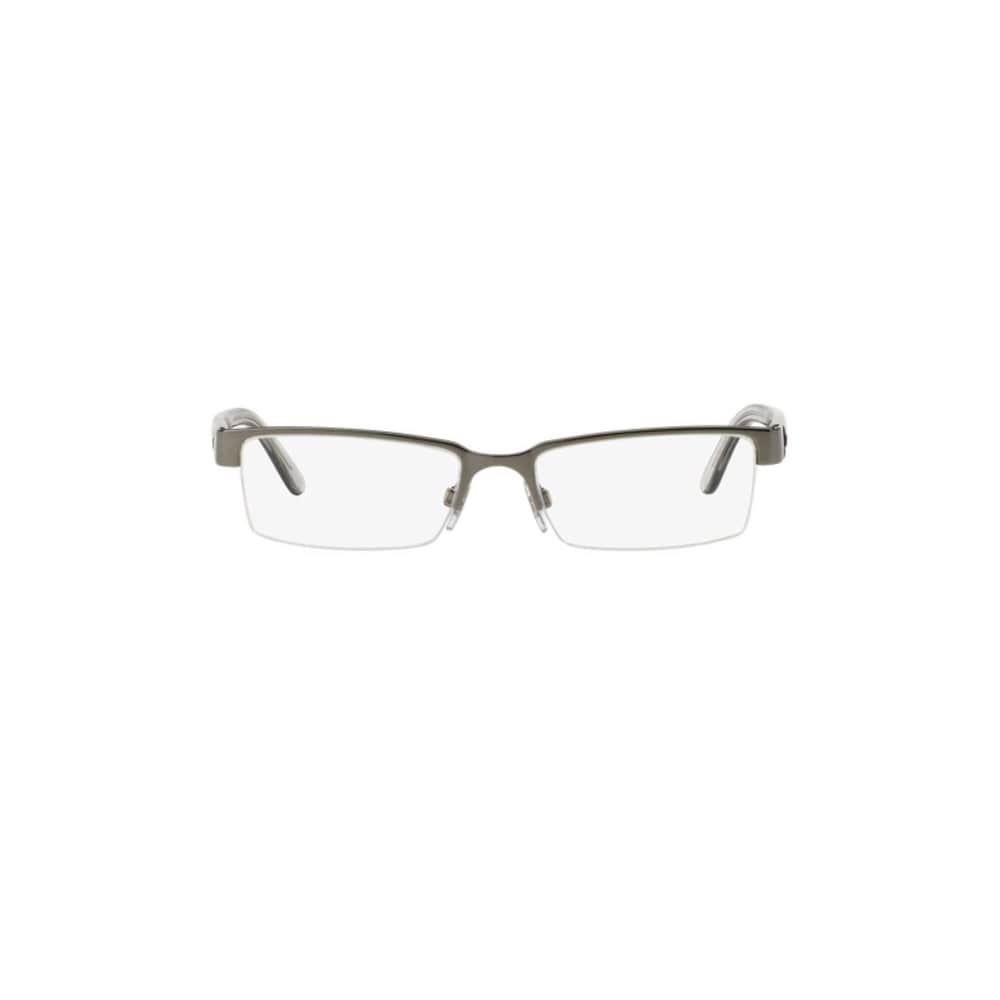 49c2c872a91e Shop Burberry BE1156 1003 Gunmetal Metal Rectangle Eyeglasses with 52mm  Lens - Free Shipping Today - Overstock - 12315818