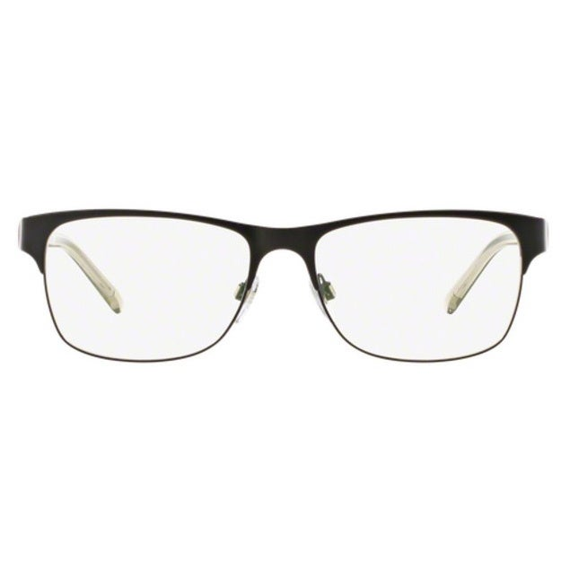 81f9fdf44653 Shop Burberry BE1289 1007 Matte Black Square Full rim Eyeglasses with 55mm  Lens - Free Shipping Today - Overstock - 12315820