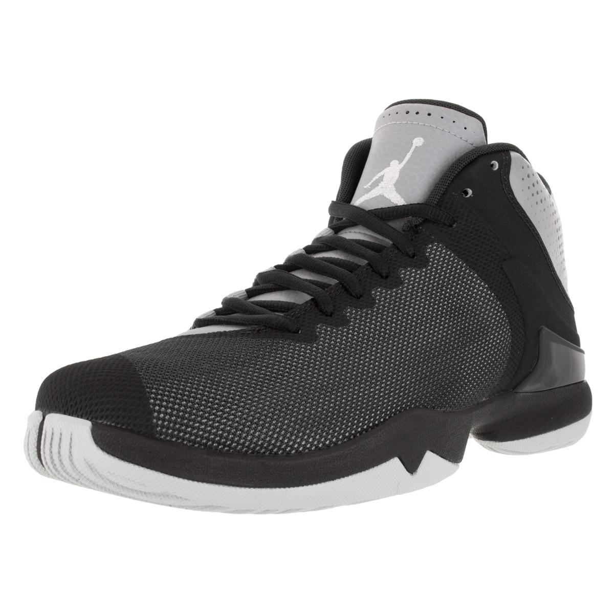 99b57fb71c62 Nike Jordan Men s Jordan Super.Fly 4 Po Wolf Grey White Anthracite Infrared  23 Basketball Shoe
