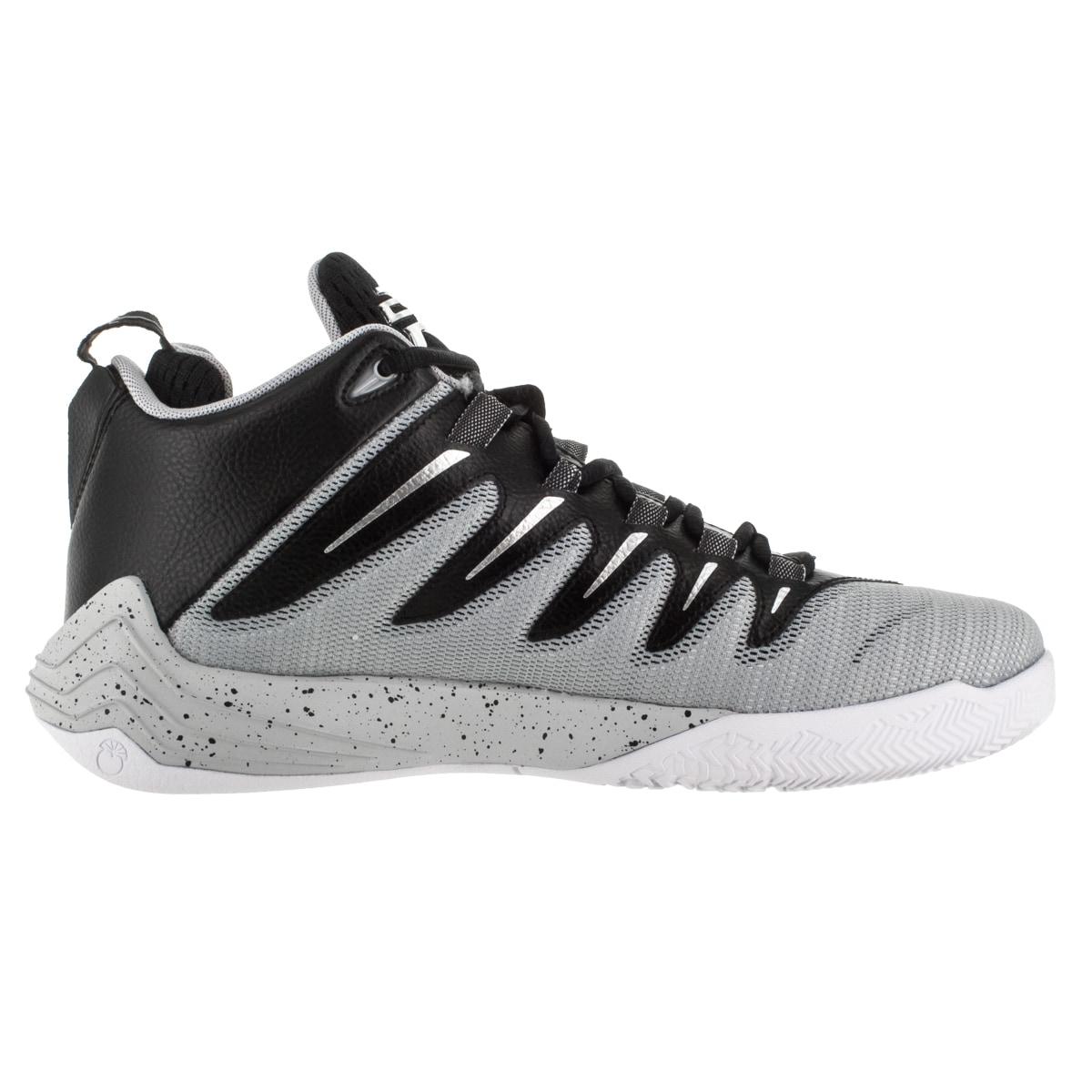 brand new 2fb31 3536b Shop Nike Jordan Men s Jordan Cp3.Ix Black Metallic Silver Wlf  Pr Plt  Basketball Shoe - Free Shipping Today - Overstock - 12318263