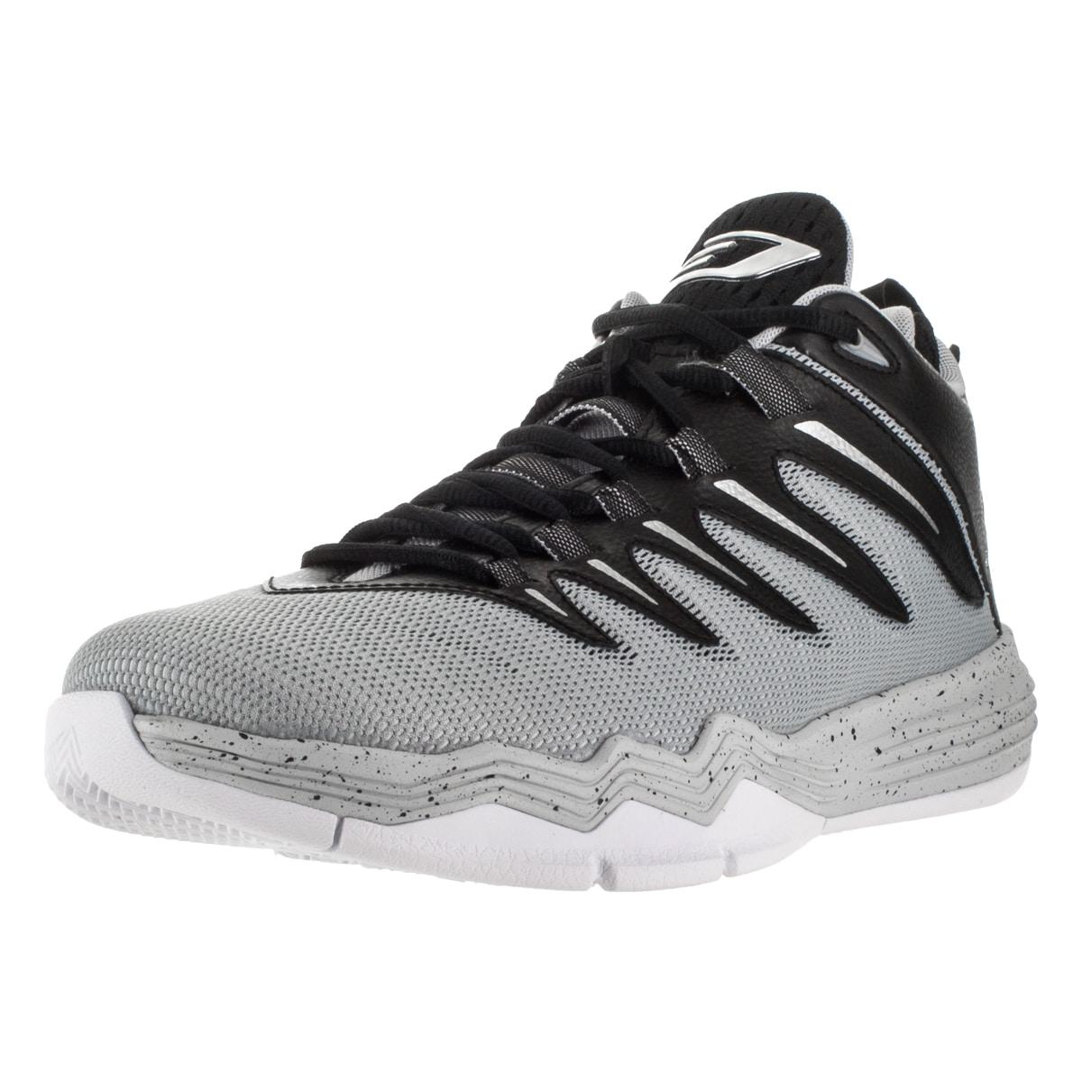 huge discount 76f1b ea21b Shop Nike Jordan Men s Jordan Cp3.Ix Black Metallic Silver Wlf  Pr Plt Basketball  Shoe - Free Shipping Today - Overstock - 12318263