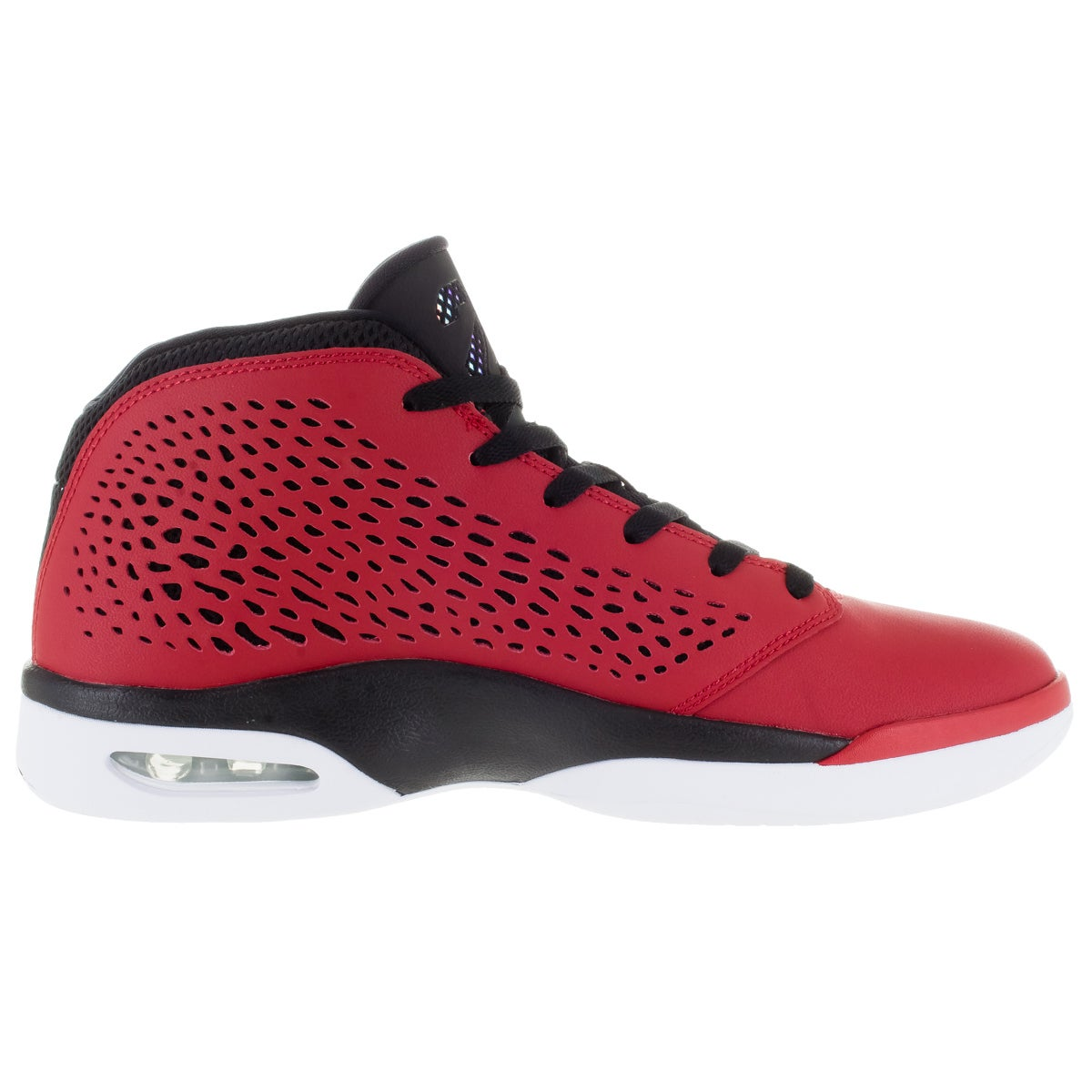 603bcce1a4e51c Shop Nike Jordan Men s Jordan Flight 2015 Gym Red White Black White  Basketball Shoe - Free Shipping Today - Overstock.com - 12318454