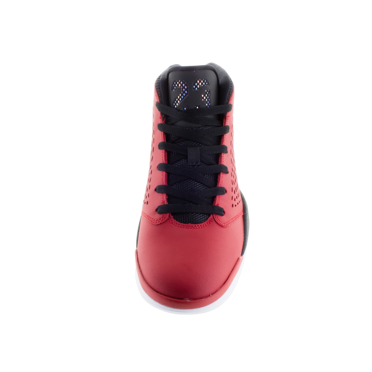 06aa0f275af8 Shop Nike Jordan Men s Jordan Flight 2015 Gym Red White Black White  Basketball Shoe - Free Shipping Today - Overstock.com - 12318454