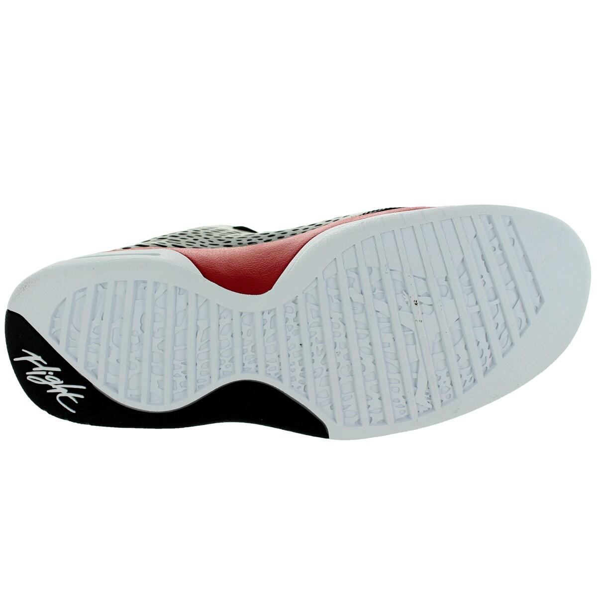 1adf580abb49 Shop Nike Jordan Men s Jordan Flight 2015 Black White Gym Red Basketball  Shoe - Free Shipping Today - Overstock - 12318462