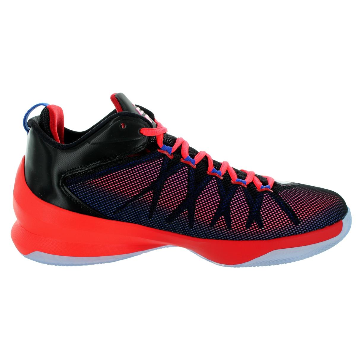 1f2ca010077f Shop Nike Jordan Men s Jordan Cp3.Viii Ae Black Gm Royal Sprt Rd Pink Pw Basketball  Shoe - Free Shipping Today - Overstock.com - 12318472