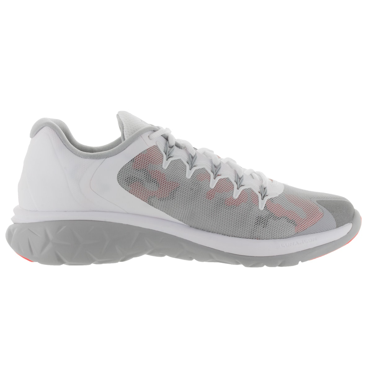 Jordan Men -  Jordan Flight Runner 2 Running Shoes in White/Wolf Grey/Infrared