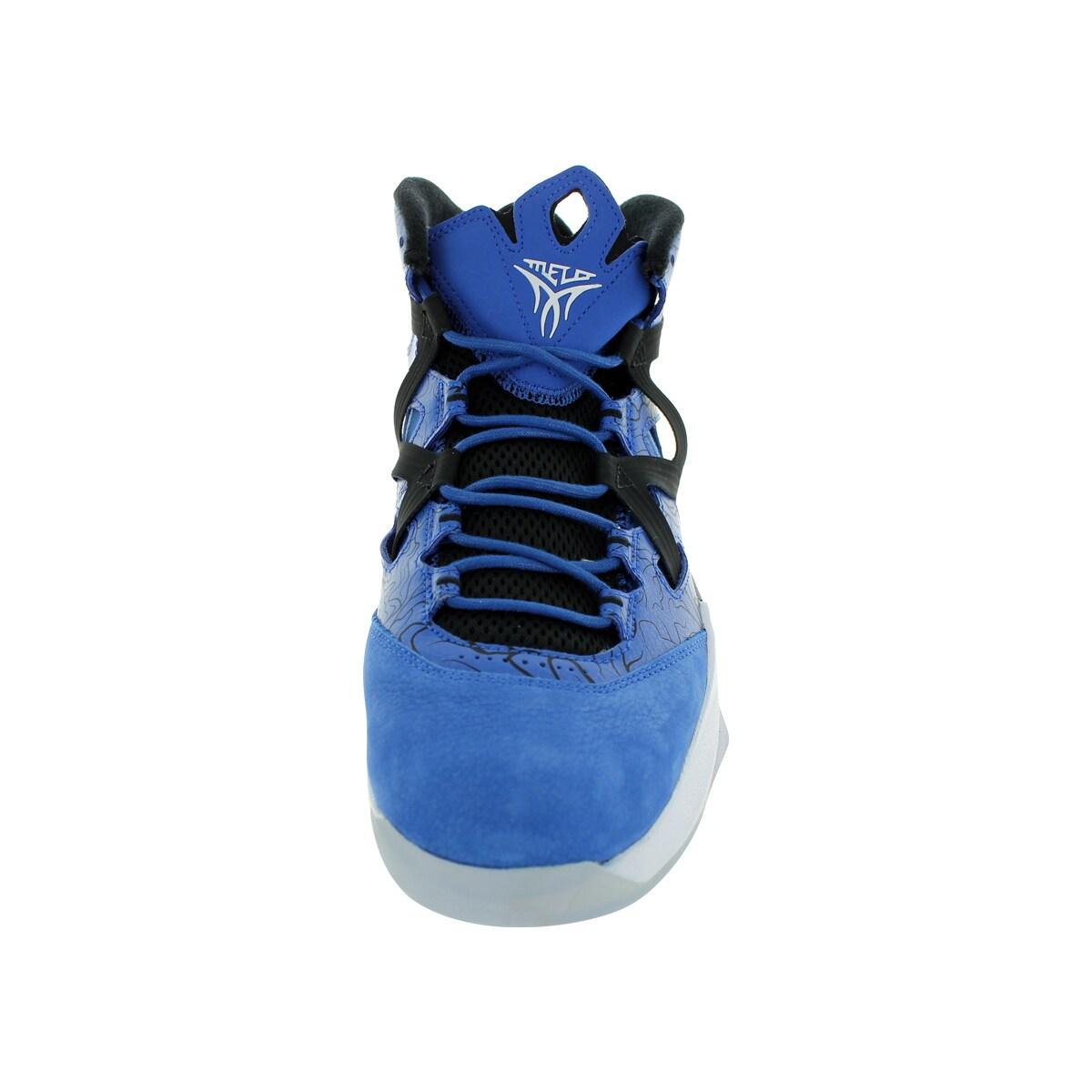 low priced 40e7b 4f633 Shop Nike Men s Jordan Melo M9 Game Royal White Black Basketball Shoe -  Free Shipping Today - Overstock - 12318762