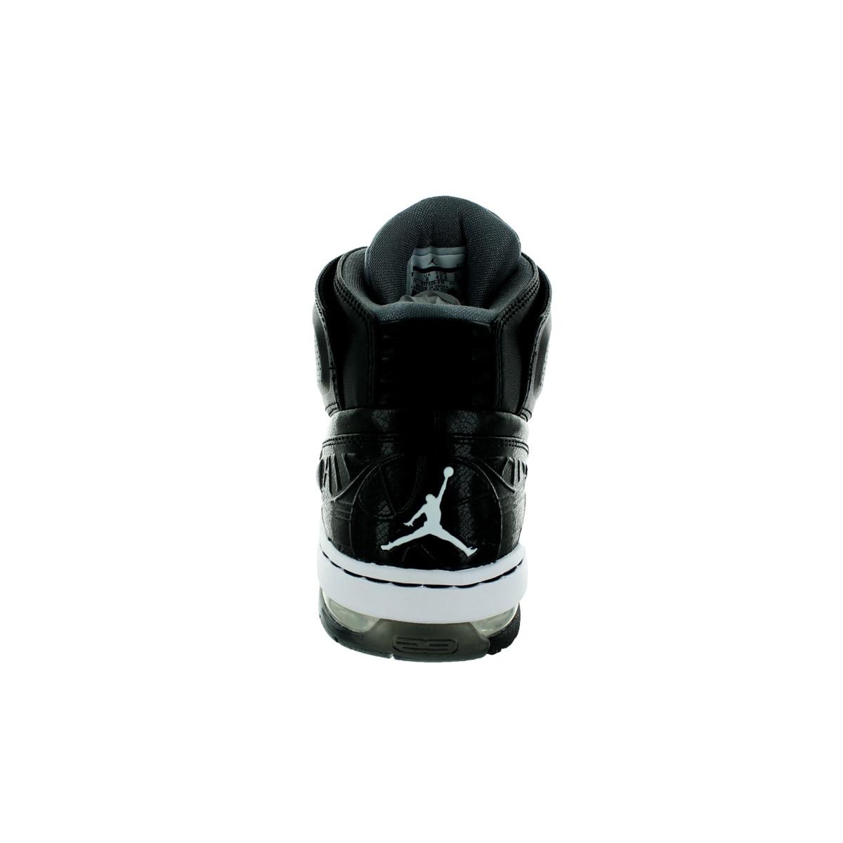 45499c92861 Shop Nike Jordan Men's Jordan Ol'School Black/White/Cool Grey Basketball  Shoe - Free Shipping Today - Overstock - 12318839