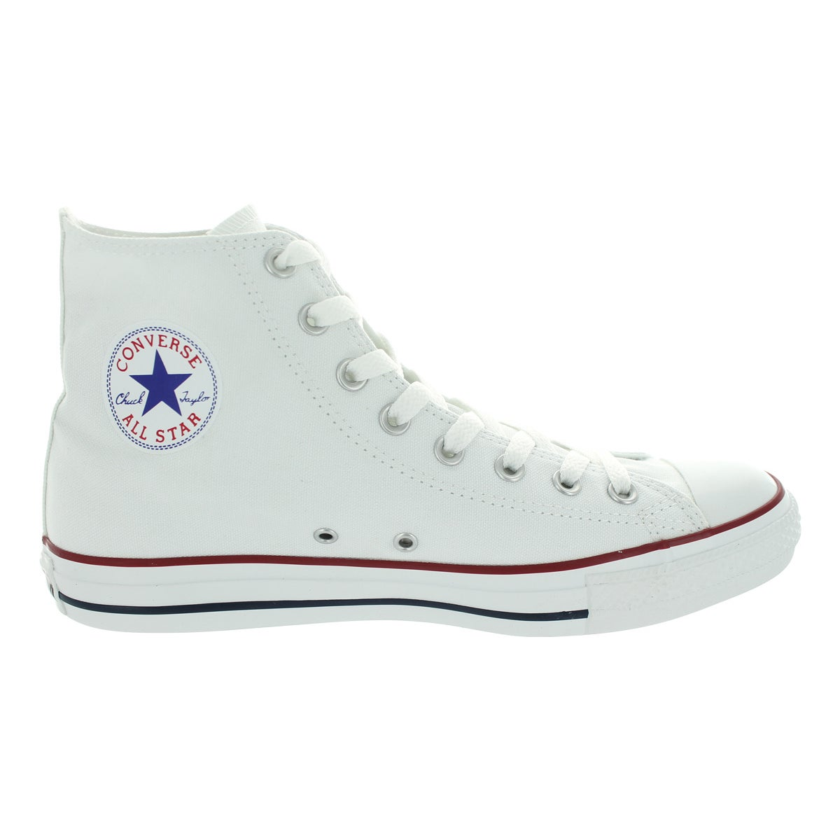 0498f3d6beb1 Shop Converse Chuck Taylor All Star High Optical White High Tops - Free  Shipping Today - Overstock - 12319057