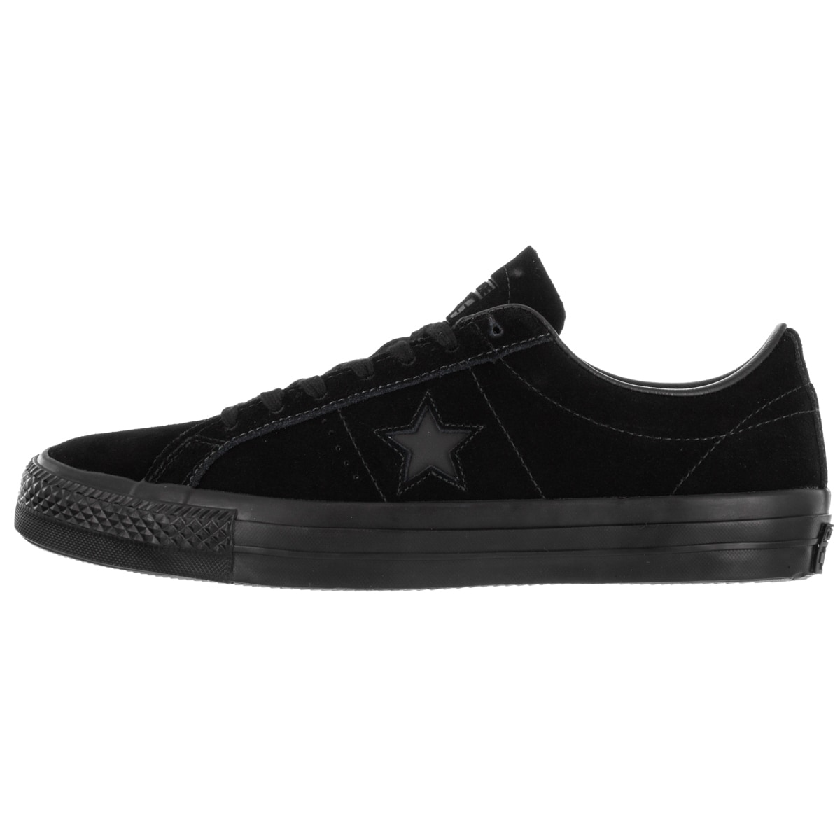 76c632afc321 Shop Converse Unisex One Star Pro Ox Black Black Skate Shoe - Free Shipping  Today - Overstock - 12319069